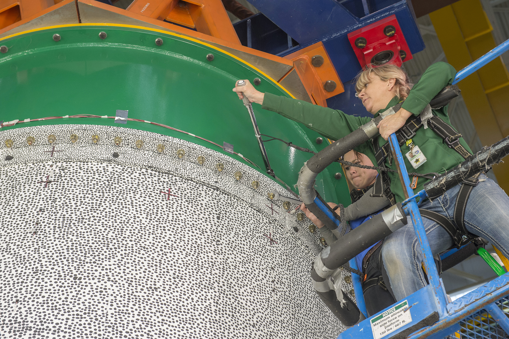 NASA Ends First Round of Composite Shell Buckling Tests with a Bang