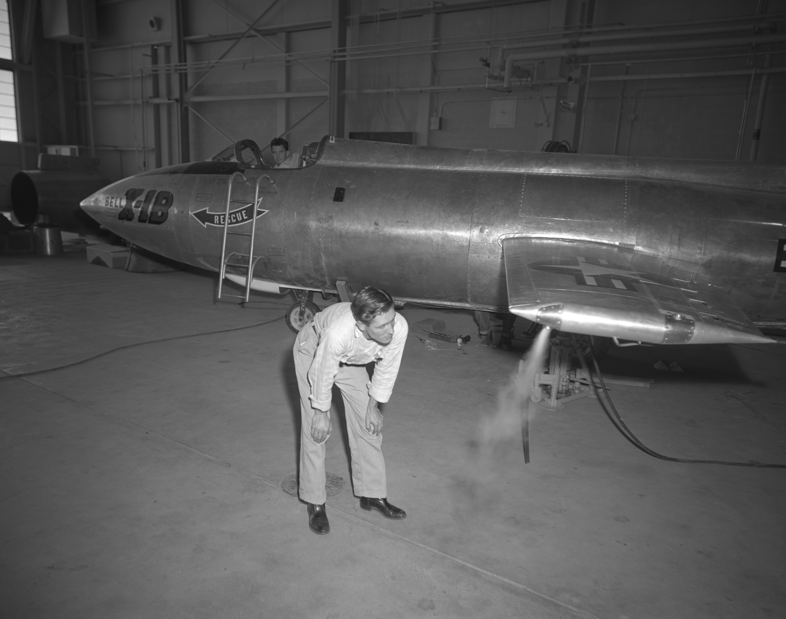 The X1b Reaction Control System Thrusters Are Tested In 1958 And Later  Proven On