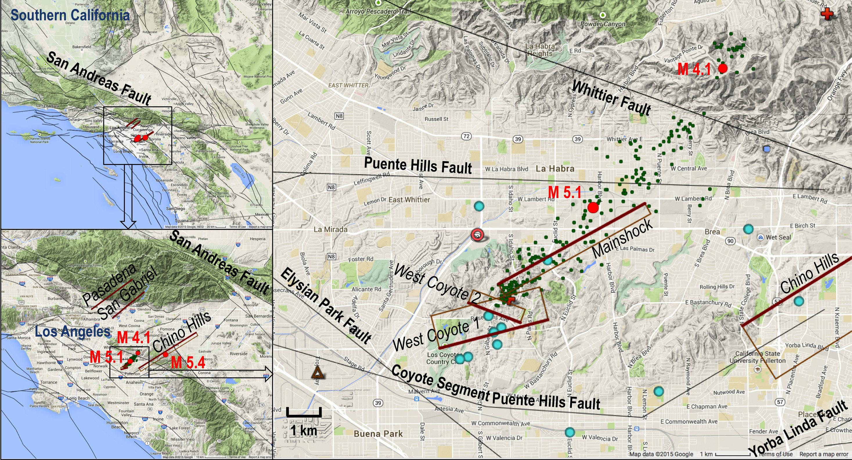 NASA Radar System Surveys Napa Valley Quake Area NASA - Washington dc earthquake map