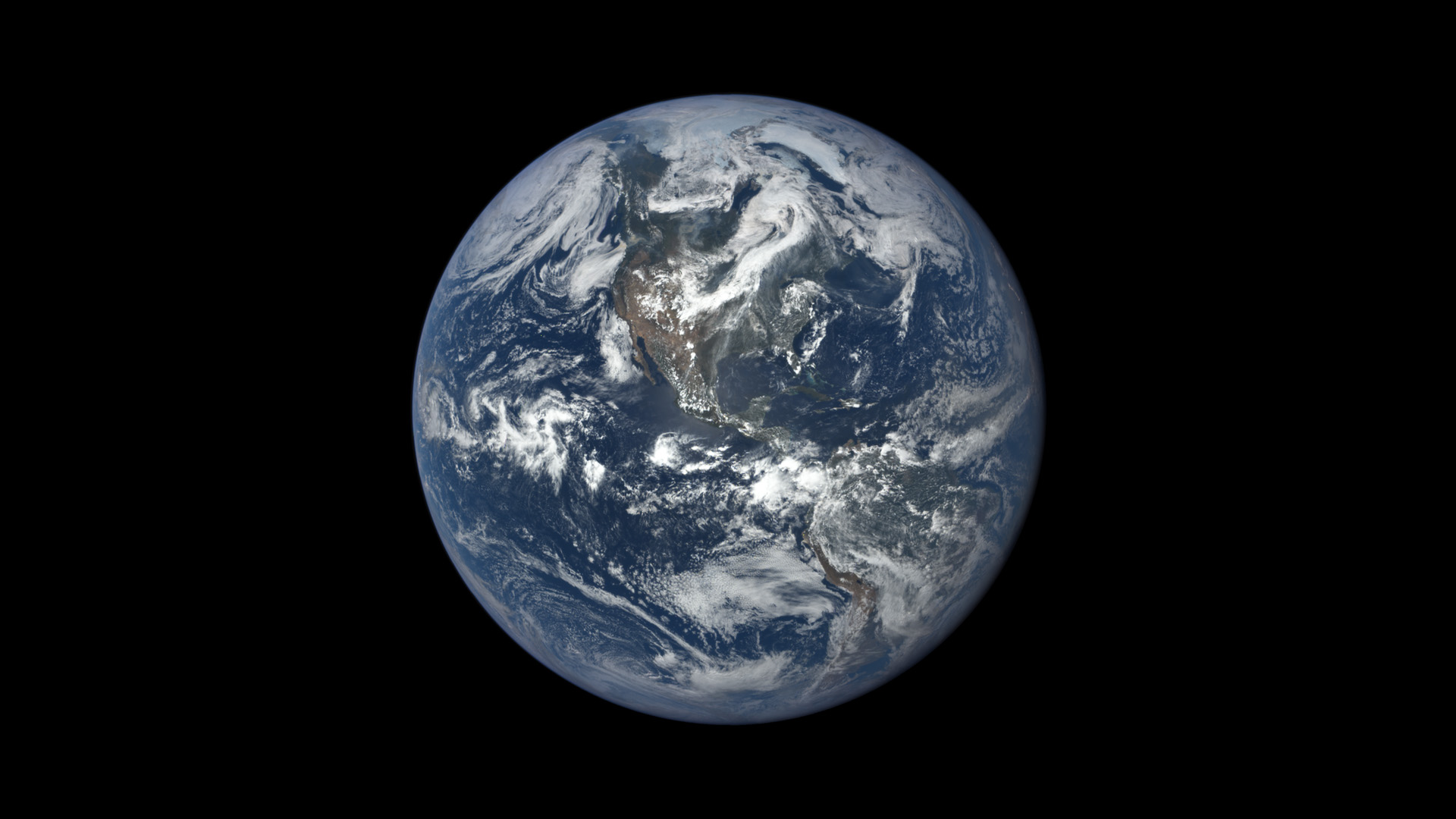 This Image Taken In 2015 Shows Earth As Seen By NASAs Polychromatic Imaging Camera EPIC Aboard NOAAs Deep Space Climate Observatory DSCOVR