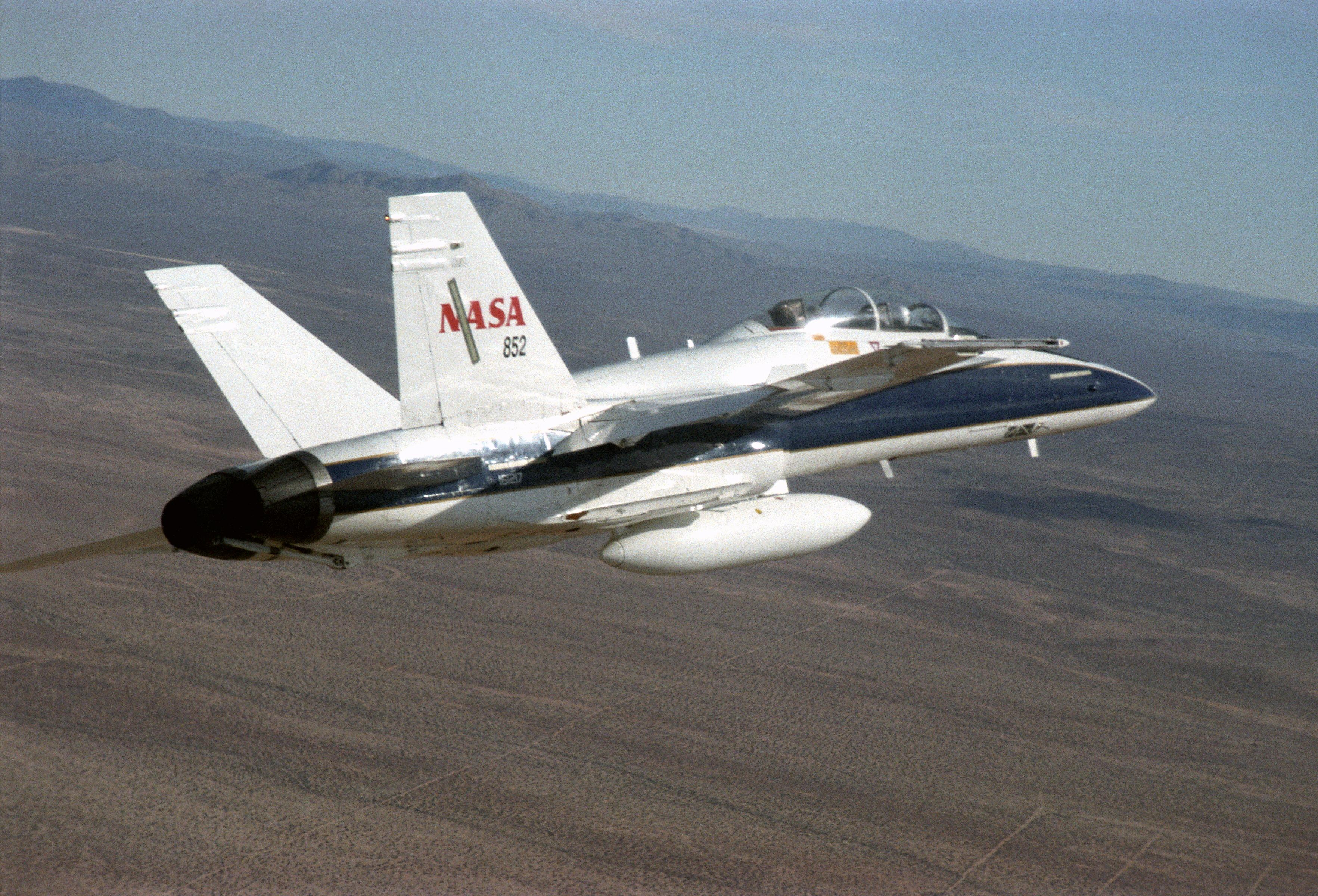 F/A-18 Mission Support Aircraft Overview | NASA