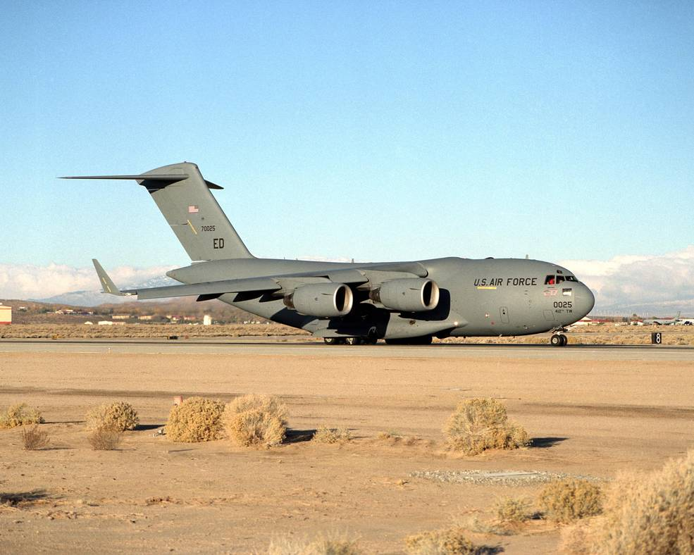 the air force provided a c 17 globemaster iii for use in the vehicle integrated - Boeing Aerospace Engineer Sample Resume