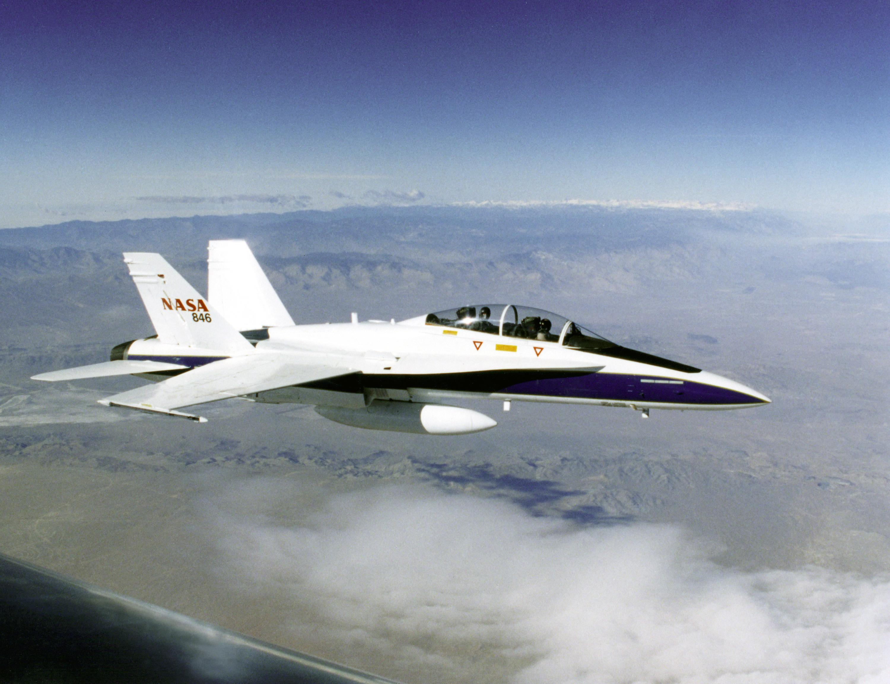 FA/18 Mission Support Aircraft - Points of Contact | NASA