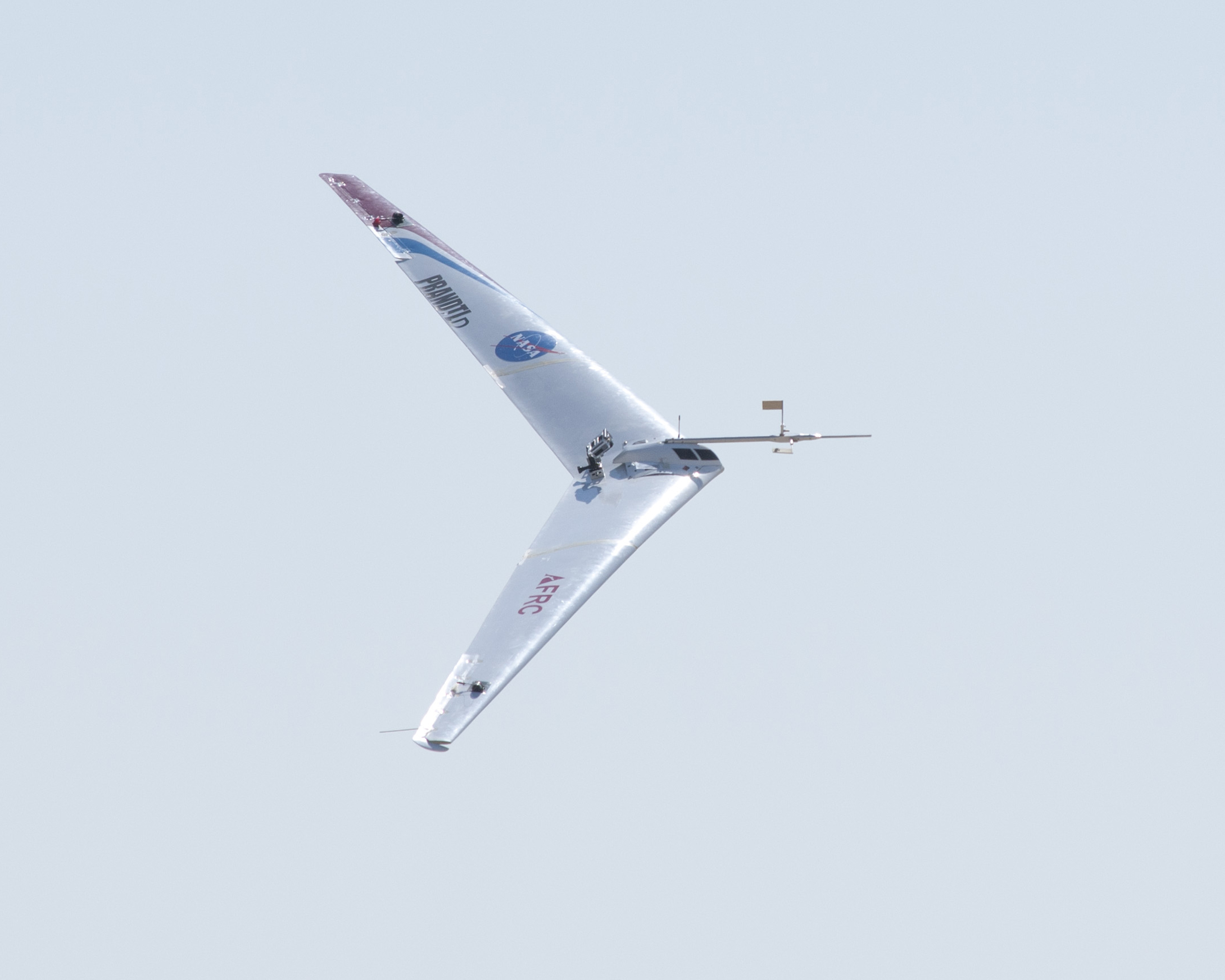 Ten Engine Electric Plane Completes Successful Flight Test Nasa