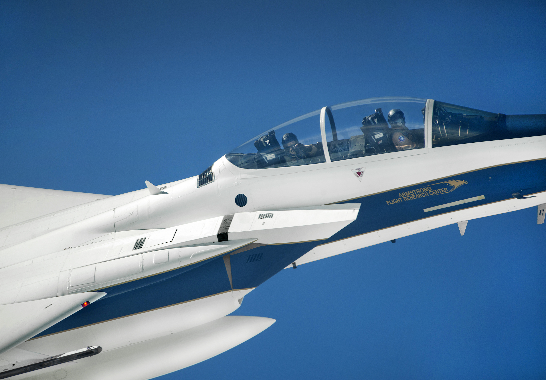 Armstrong Flight Research Center's F-15D Eagle Follows ...
