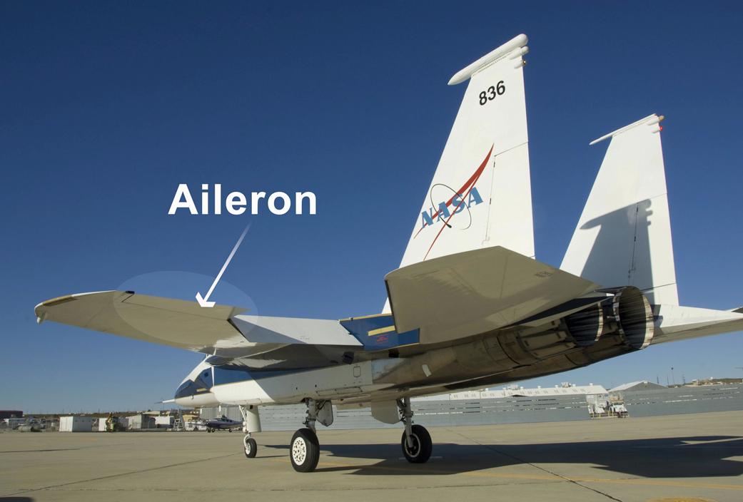 ailerons nasa