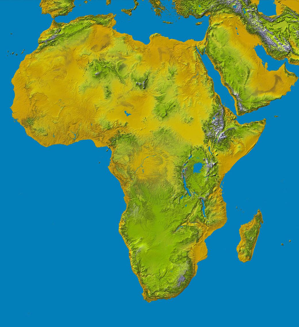 continent nasa