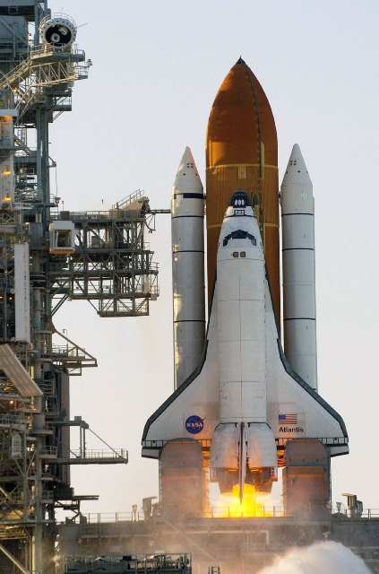 Who invented the first space rocket?