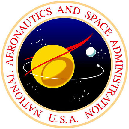 Image result for nasa logo in 1958