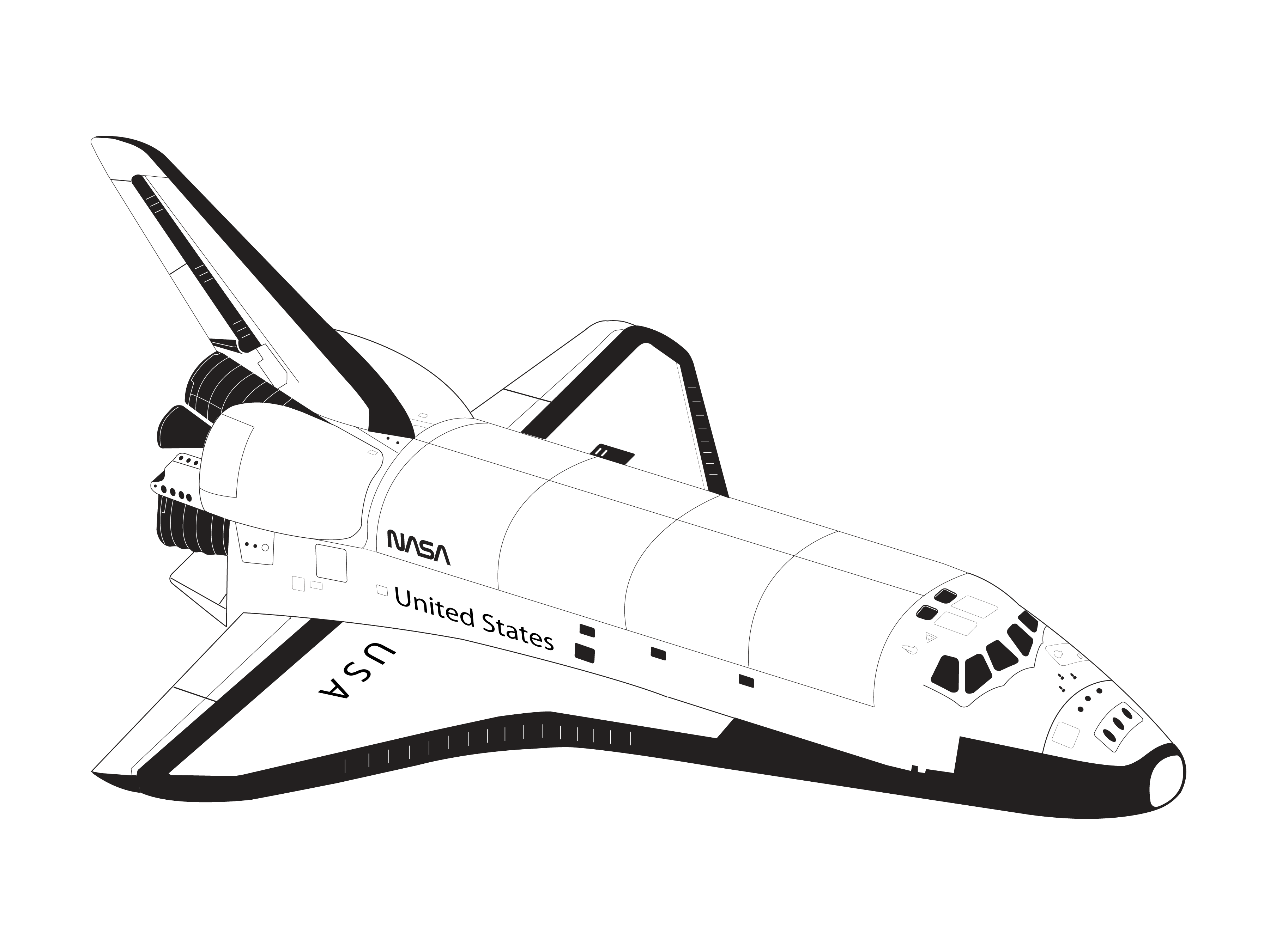 new space shuttle illustration - photo #23