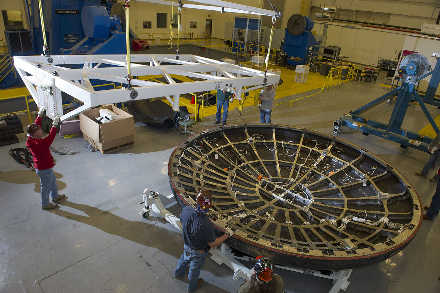 Heat Shield for NASA's Orion Continues Post-Flight Journey ...