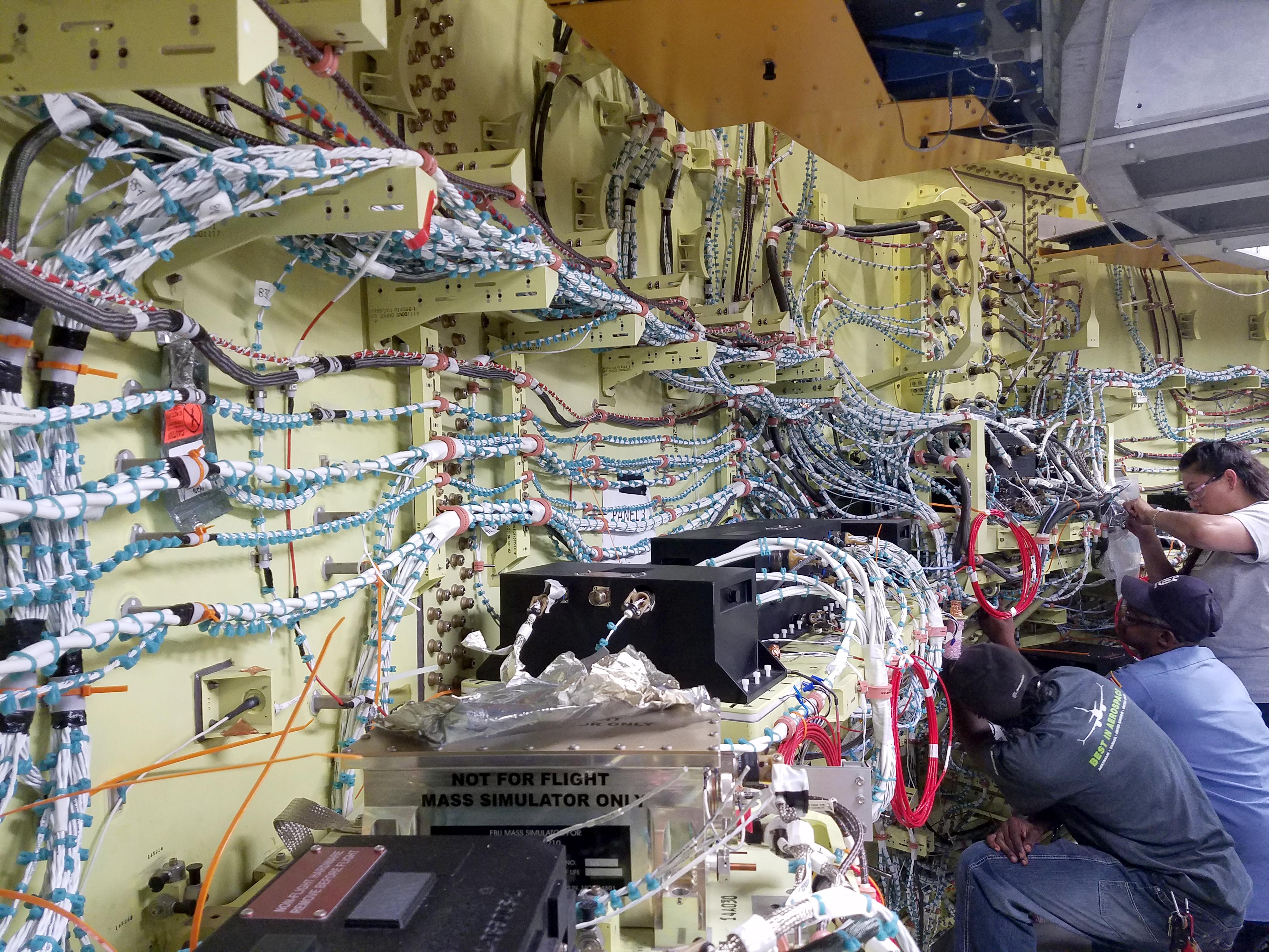 October 17 2018 Nasa Home Wiring Simulator Sls Avionics