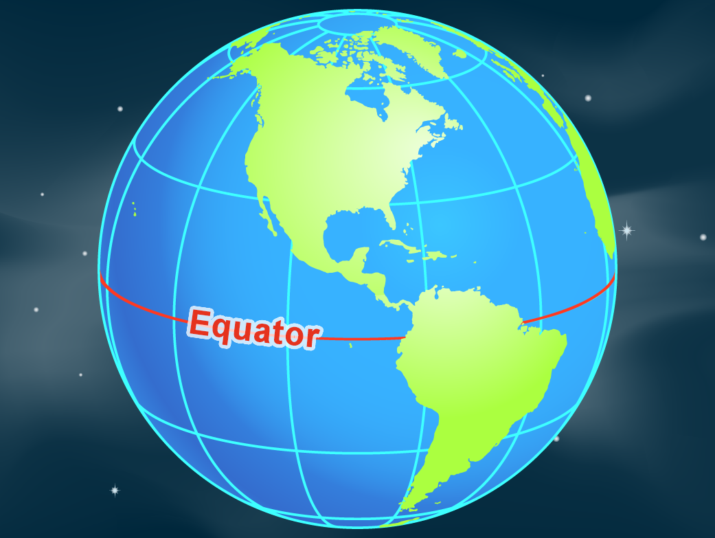 Equator nasa map with equator labeled gumiabroncs Image collections