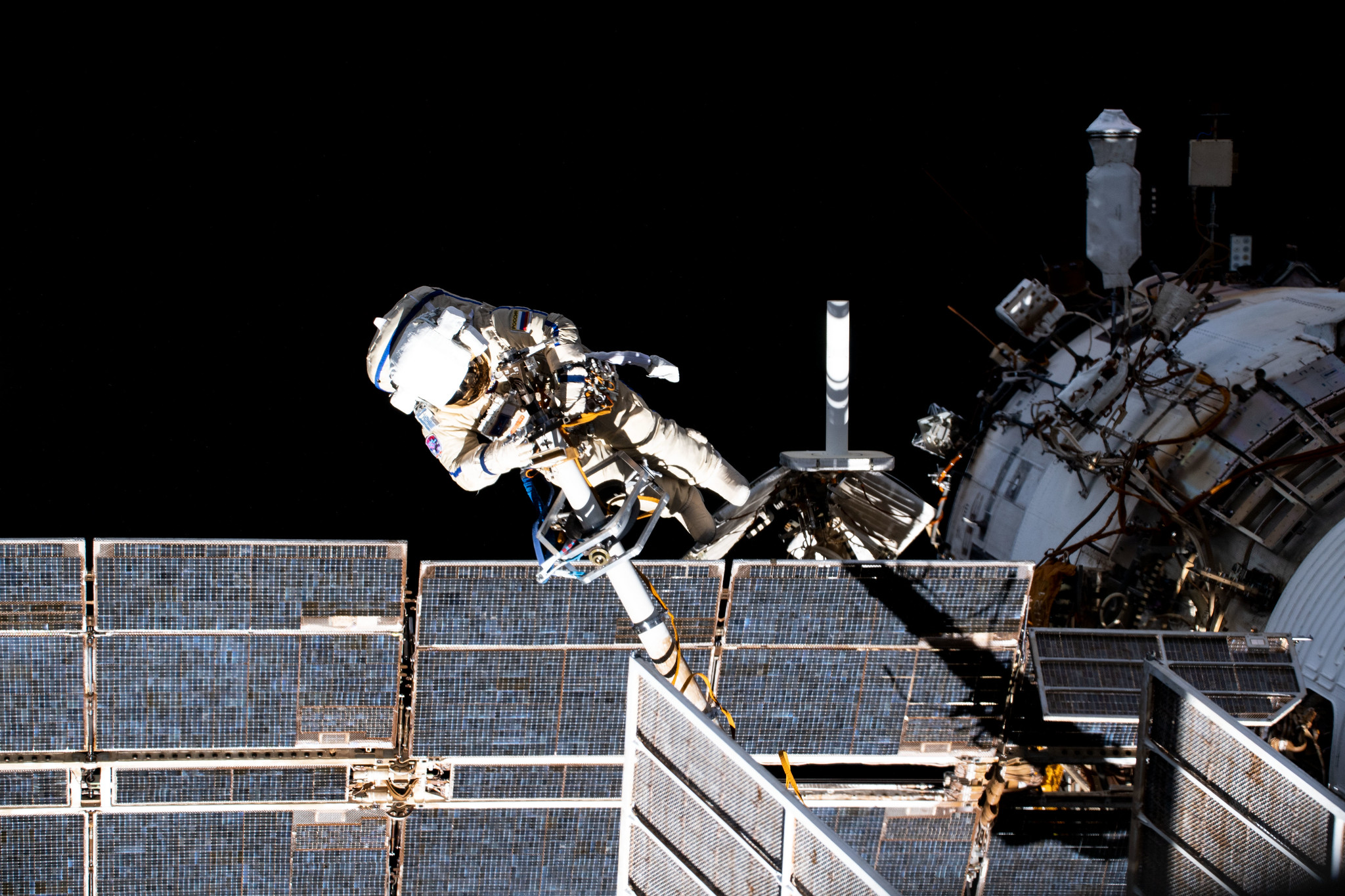 NASA Sets Coverage for Two Russian Spacewalks Outside Space Station