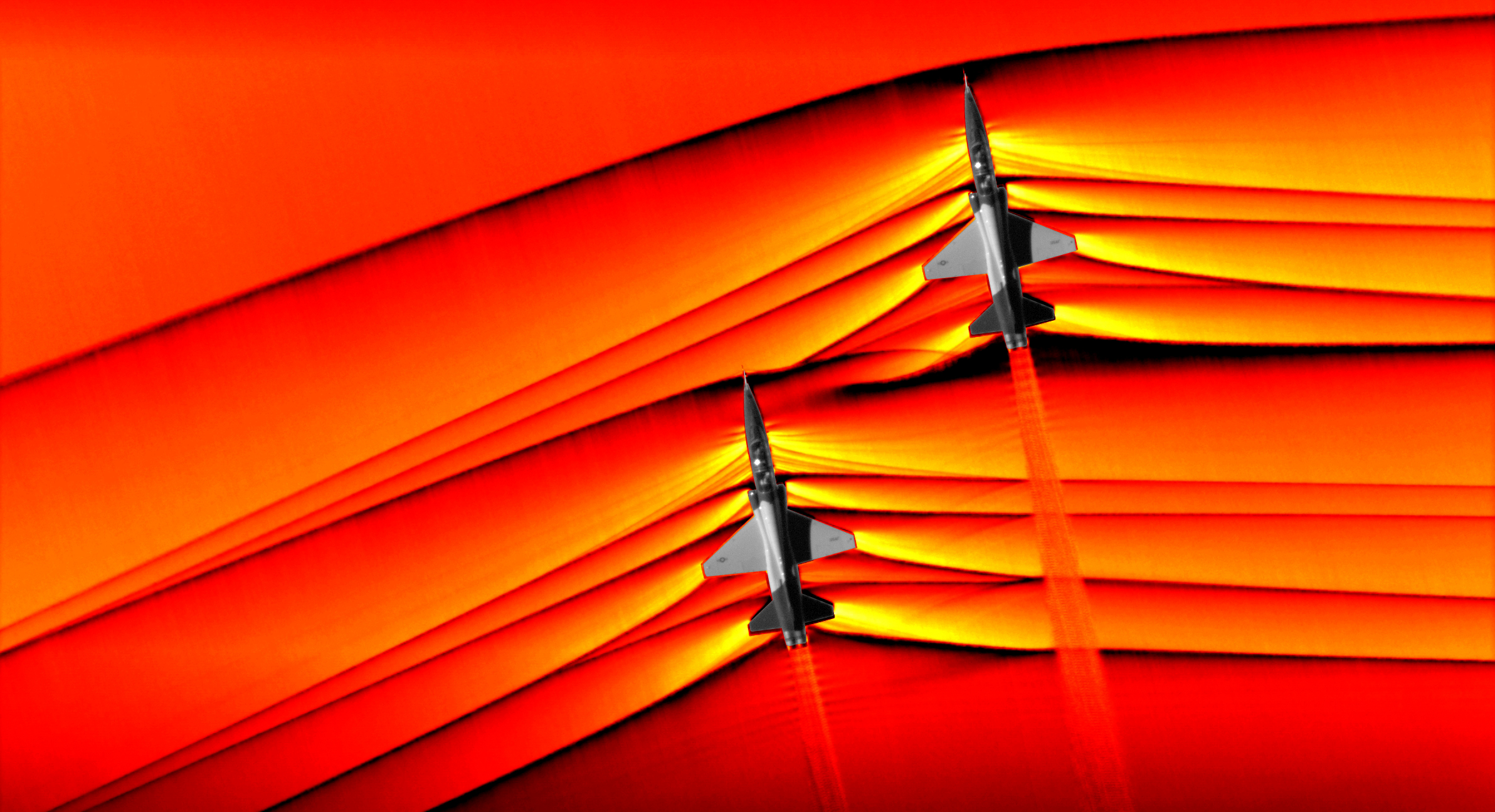 NASA Captures Supersonic Shock Interaction