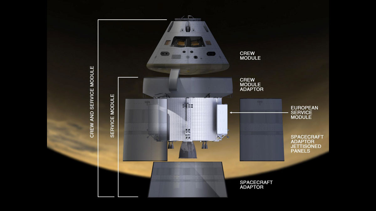 orion spacecraft cutaway - photo #15