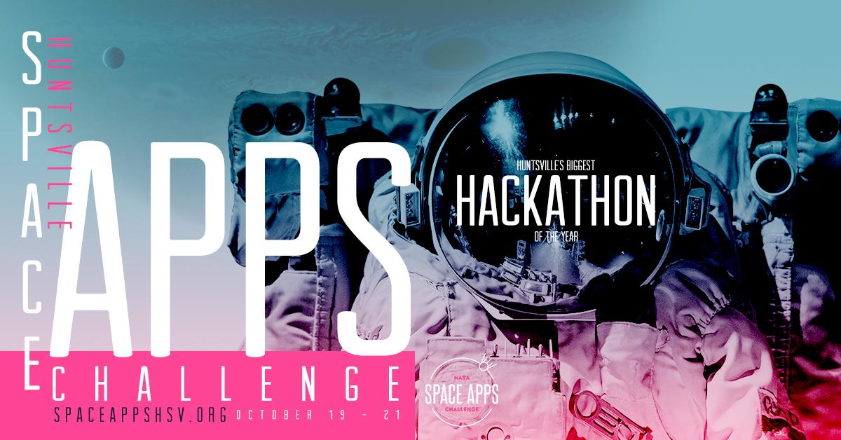 NASA's 2018 International Space Apps Challenge Returns to Huntsville