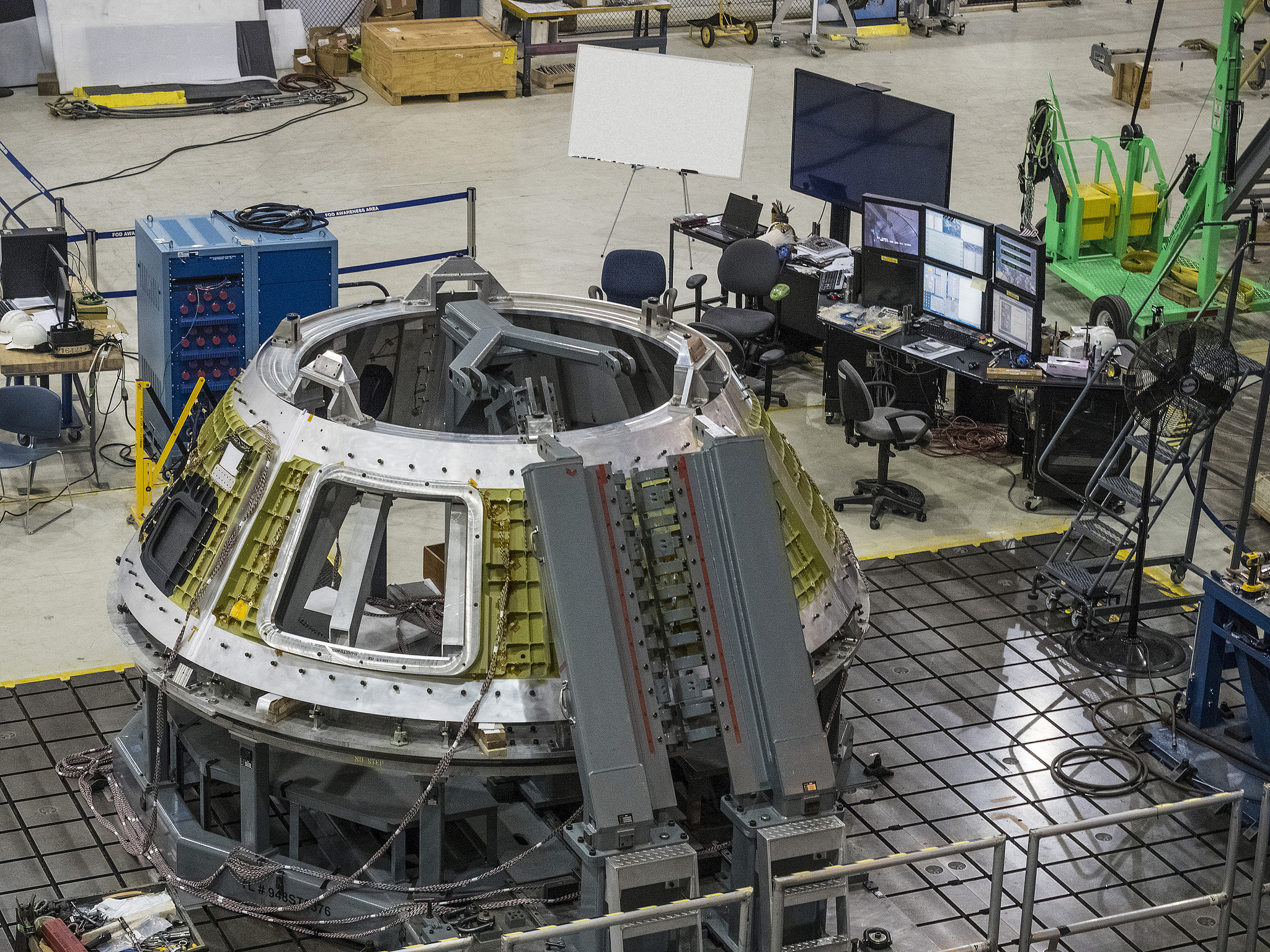 exercise device for orion to pack powerful punch nasa orion spacecraft orion crew module arrives in florida