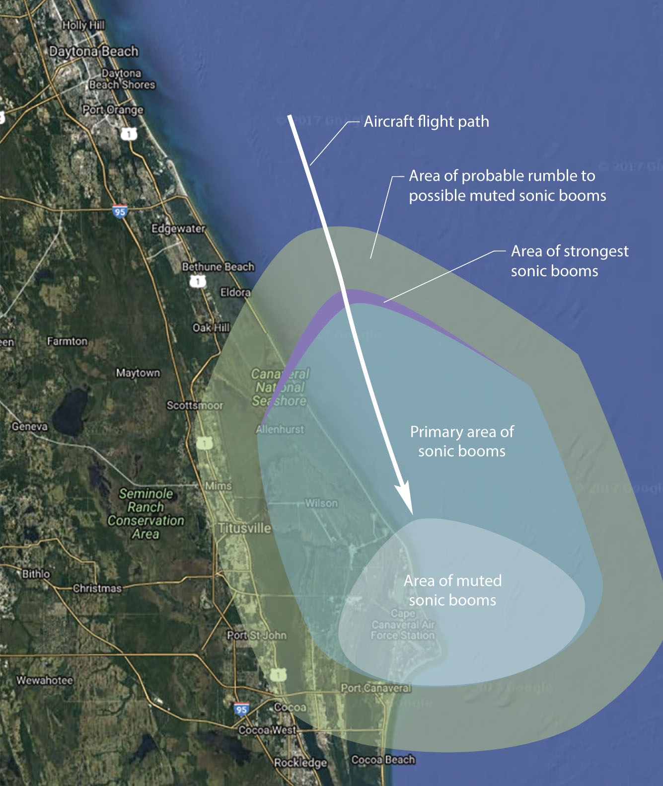 Nasa Flights To Produce Sonic Booms At Kennedy E Center For Supersonic Research