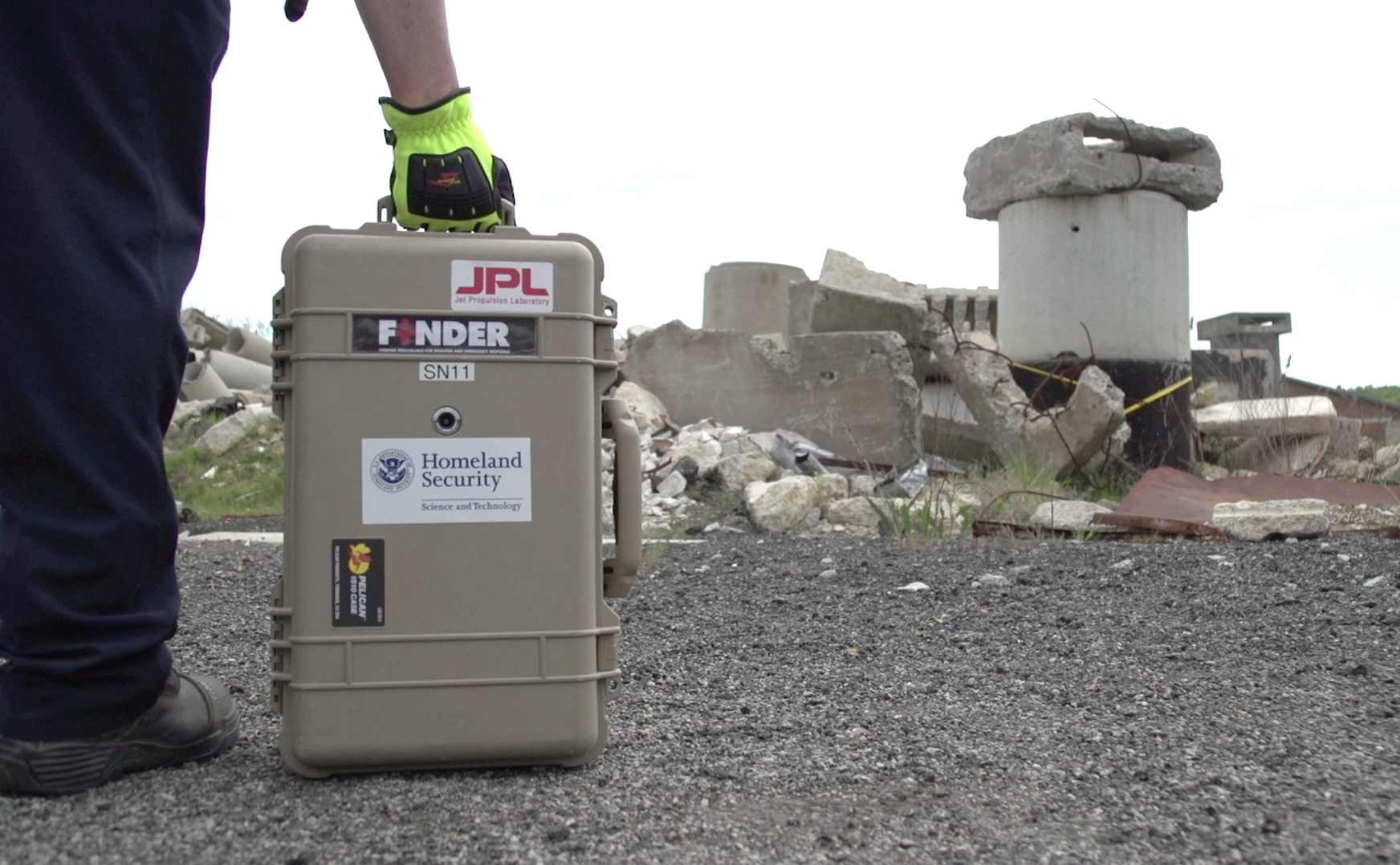 Finder Search And Rescue Technology Helped Save Lives In Nepal Nasa