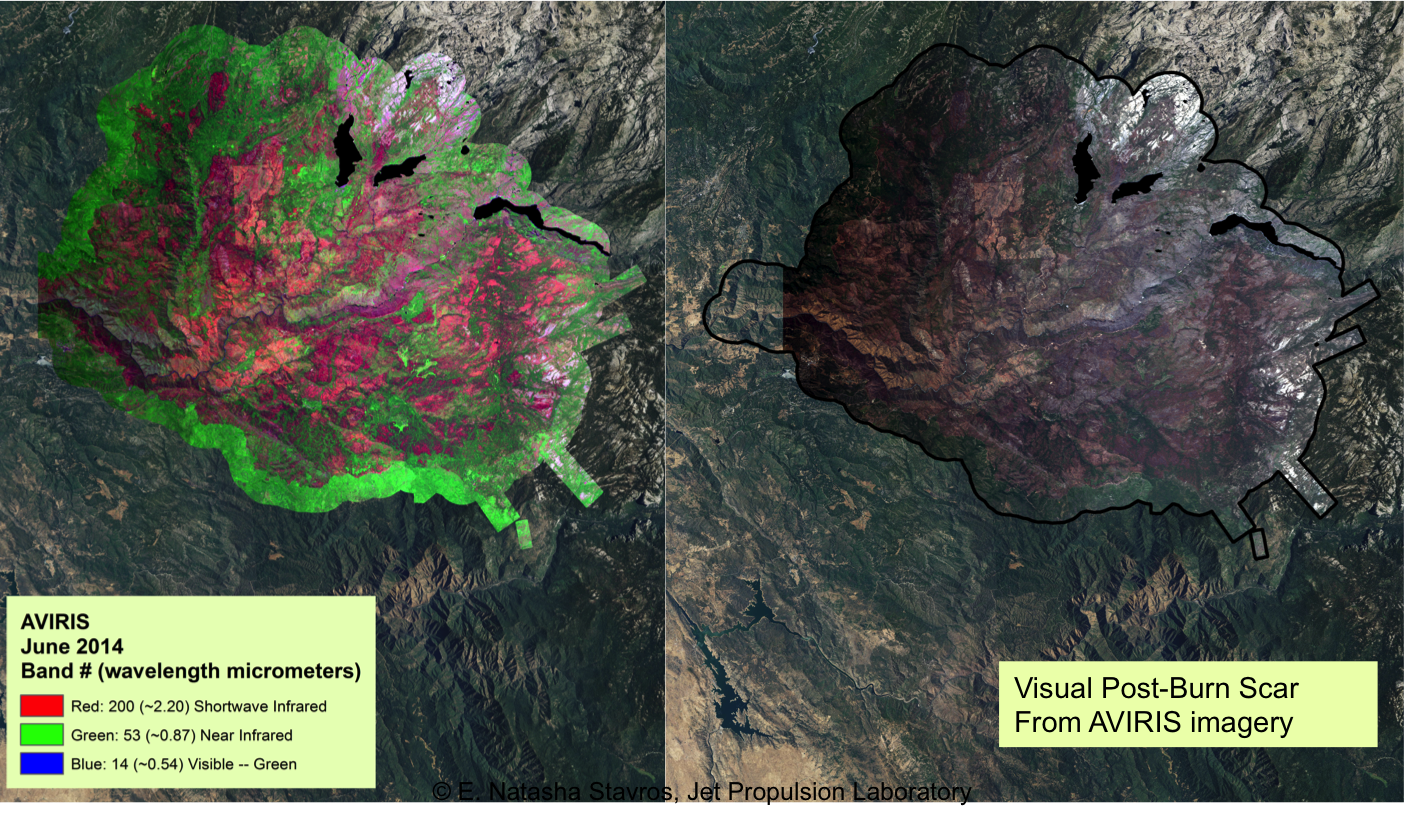 NASA/Forest Service Maps Aid Fire Recovery | NASA
