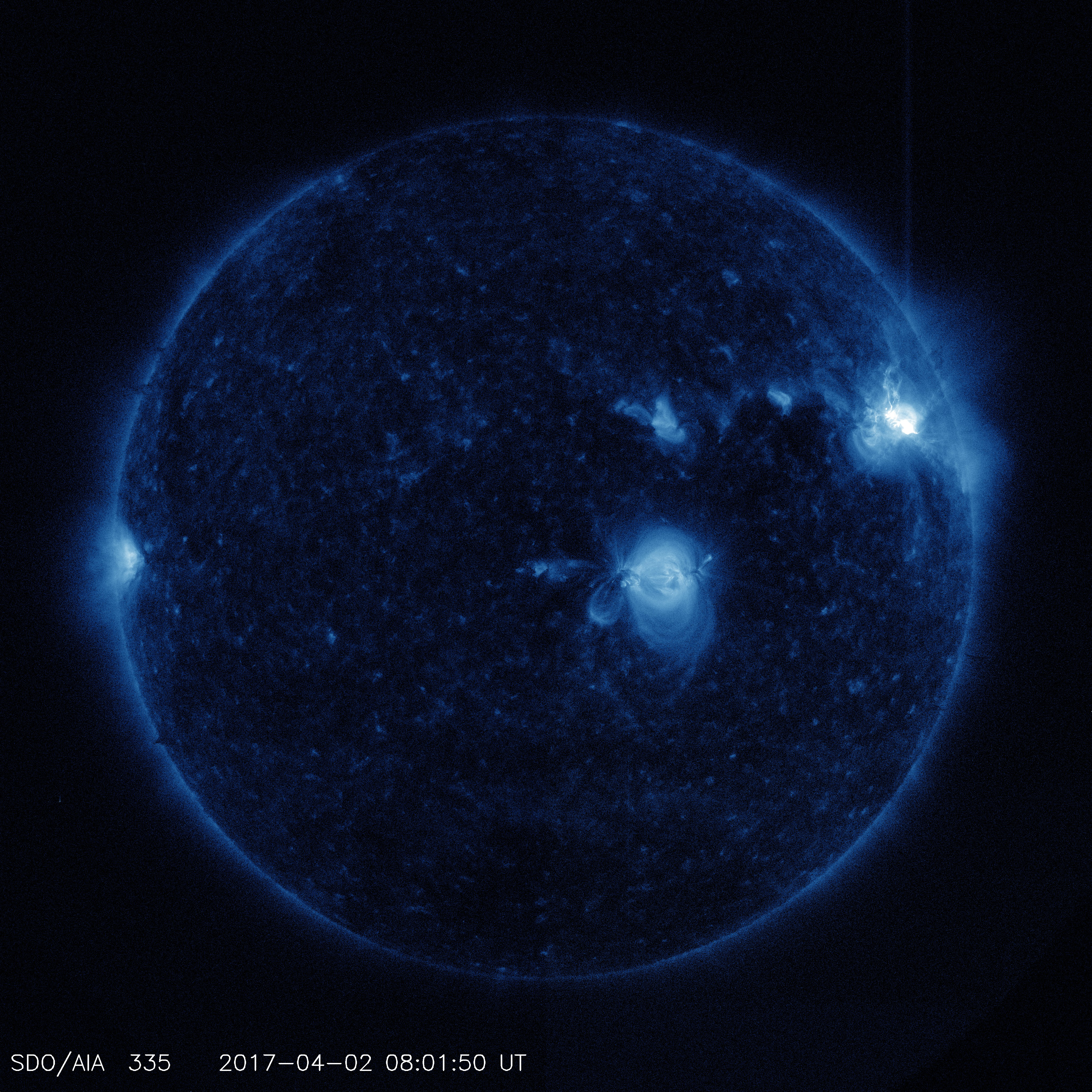 Sun exploded in X-class flash