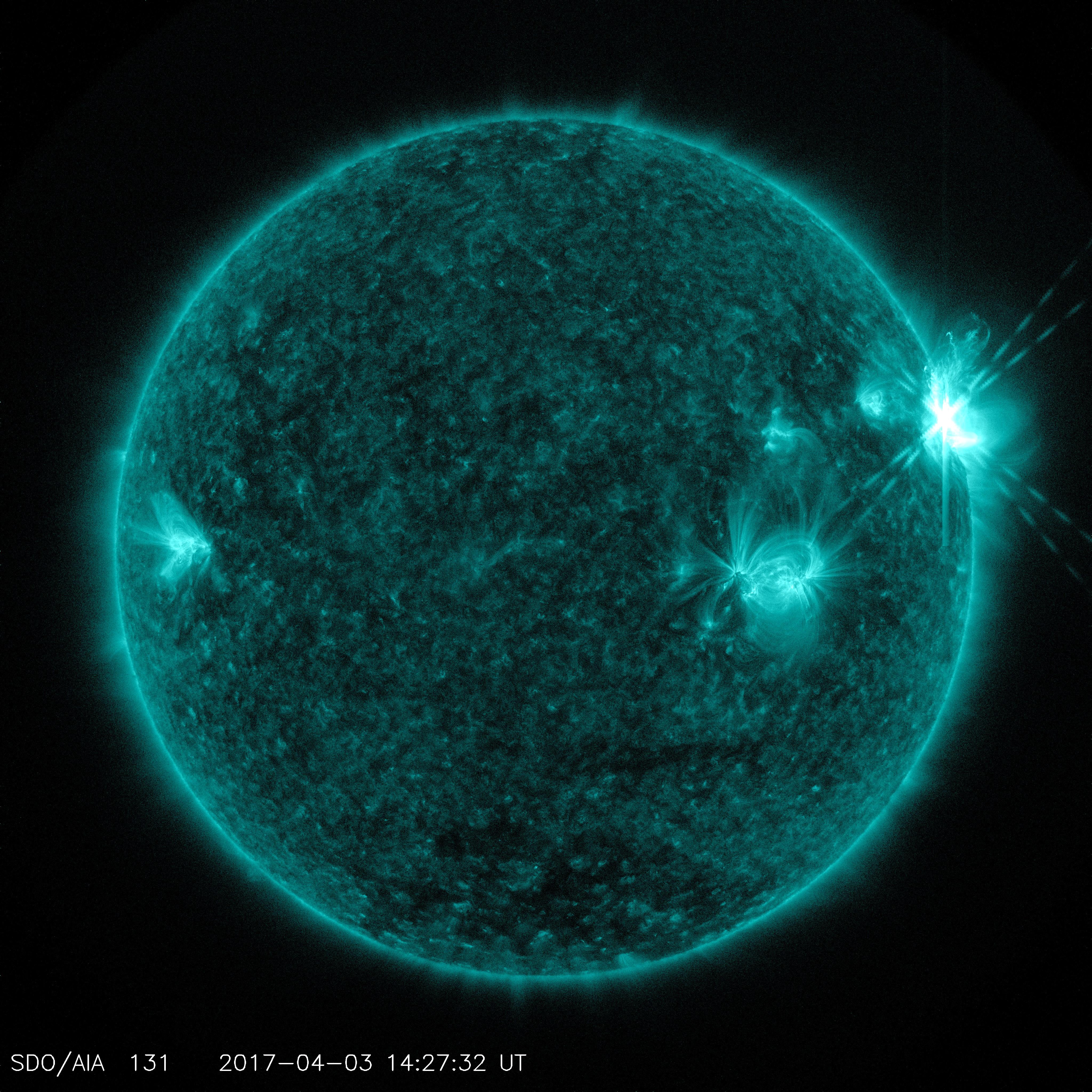nasa solar flares 2017 earth - photo #5