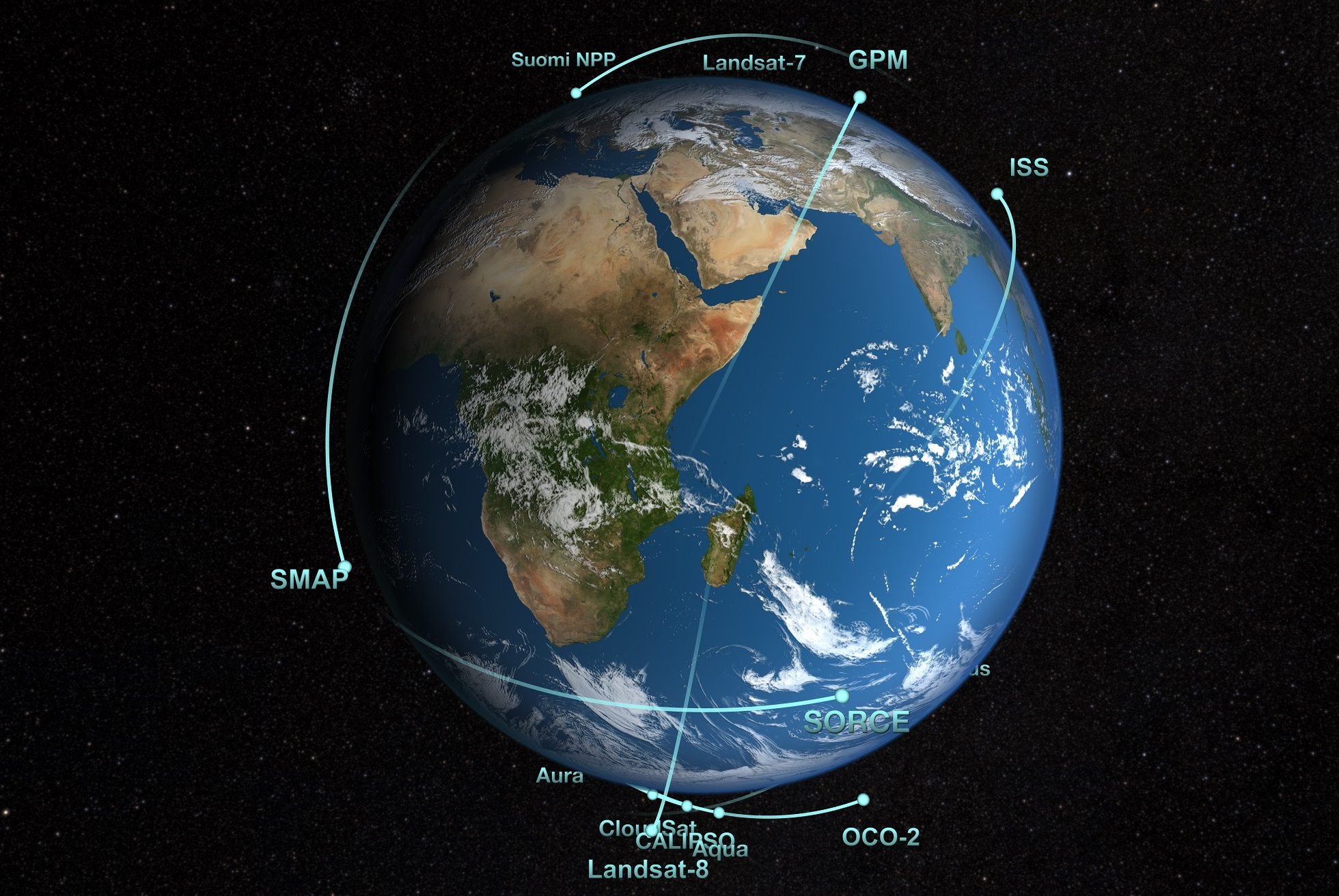 nasa earth data - photo #1