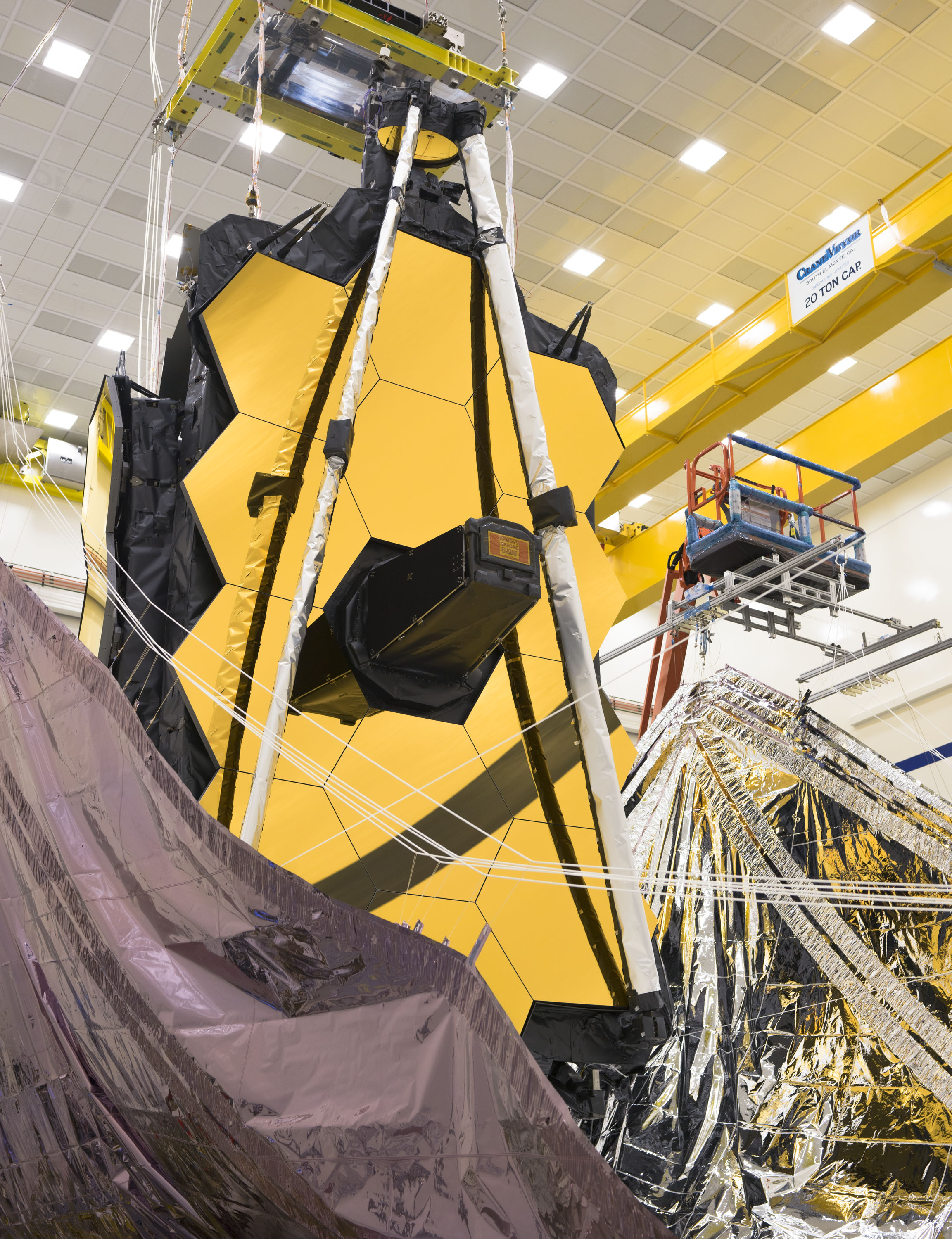 Engineers working on NASA's James Webb Space Telescope have successfully folded and packed its sunshield for its upcoming million-mile (roughly 1.5 million kilometer) journey, which begins later this year.