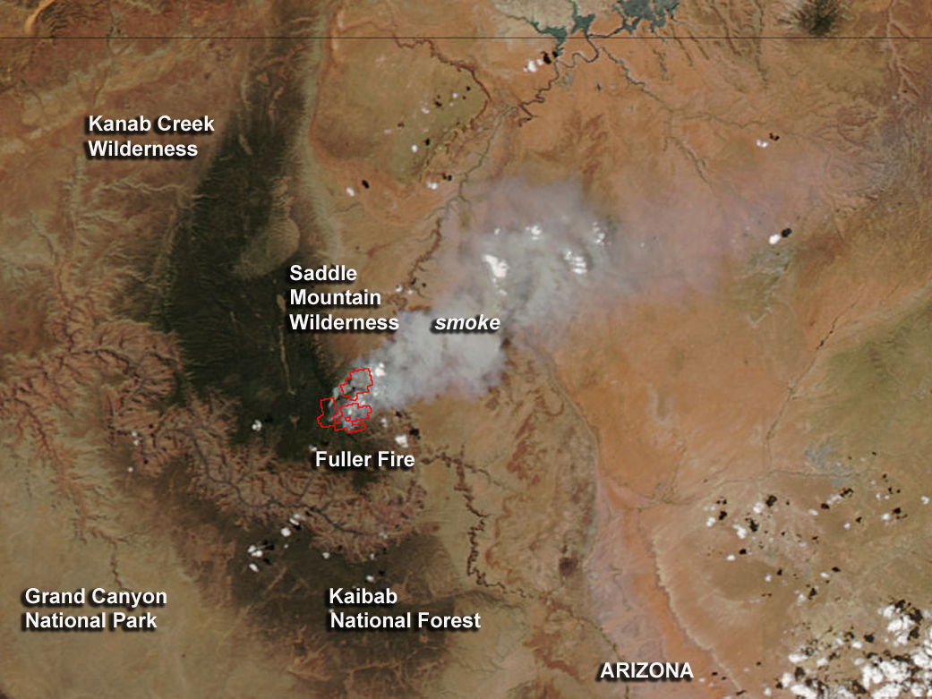 Fires And Hot Spots In Arizona NASA - Us national forest fire map