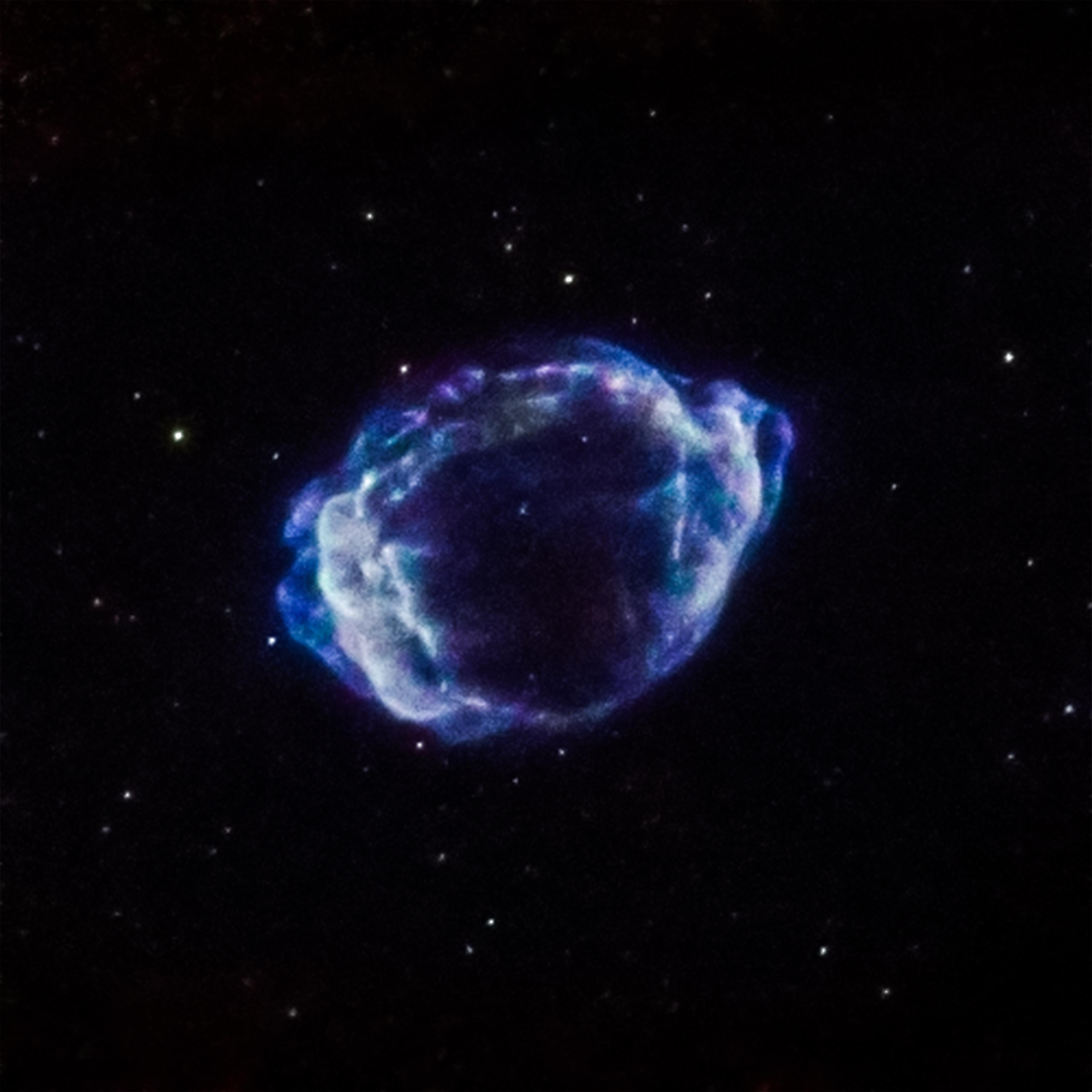 Supernova G1.9+0.3 Credits: NASA/CXC/CfA/S. Chakraborti et al.