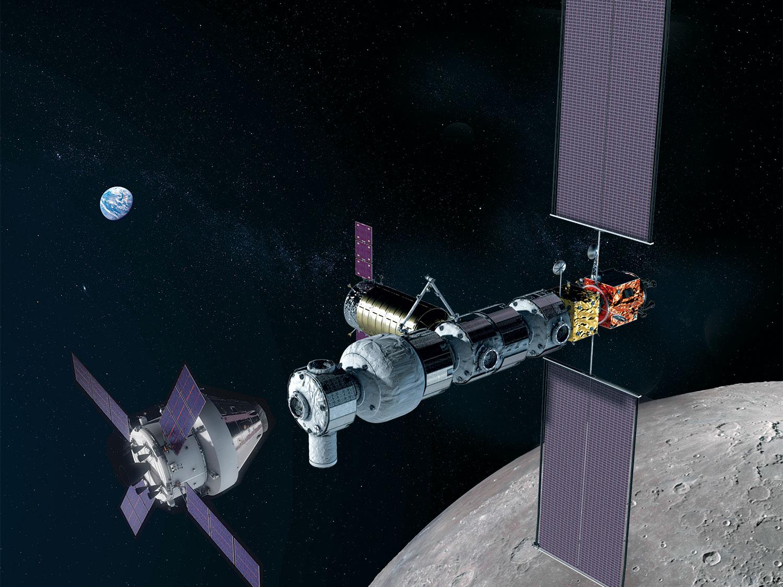 NASA plánuje vypustit první dva moduly lunární stanice Gateway na jedné raketě
