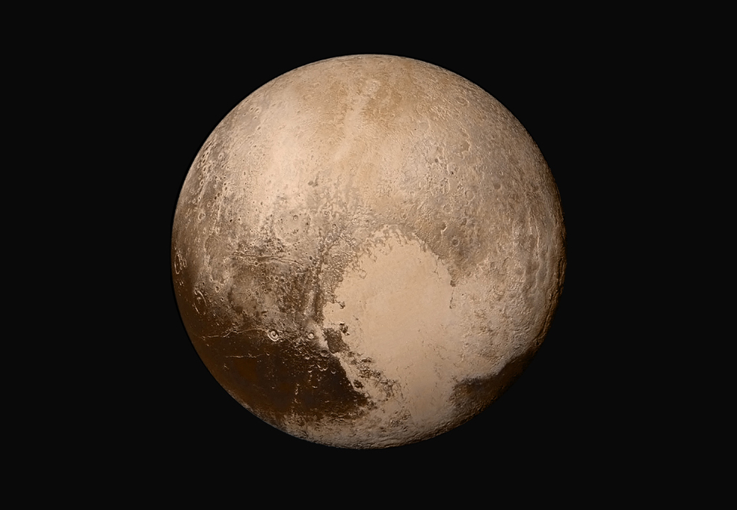 Pluto from New Horizons spacecraft (NASA/JPL)