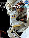 Goddard View cover - astronaut
