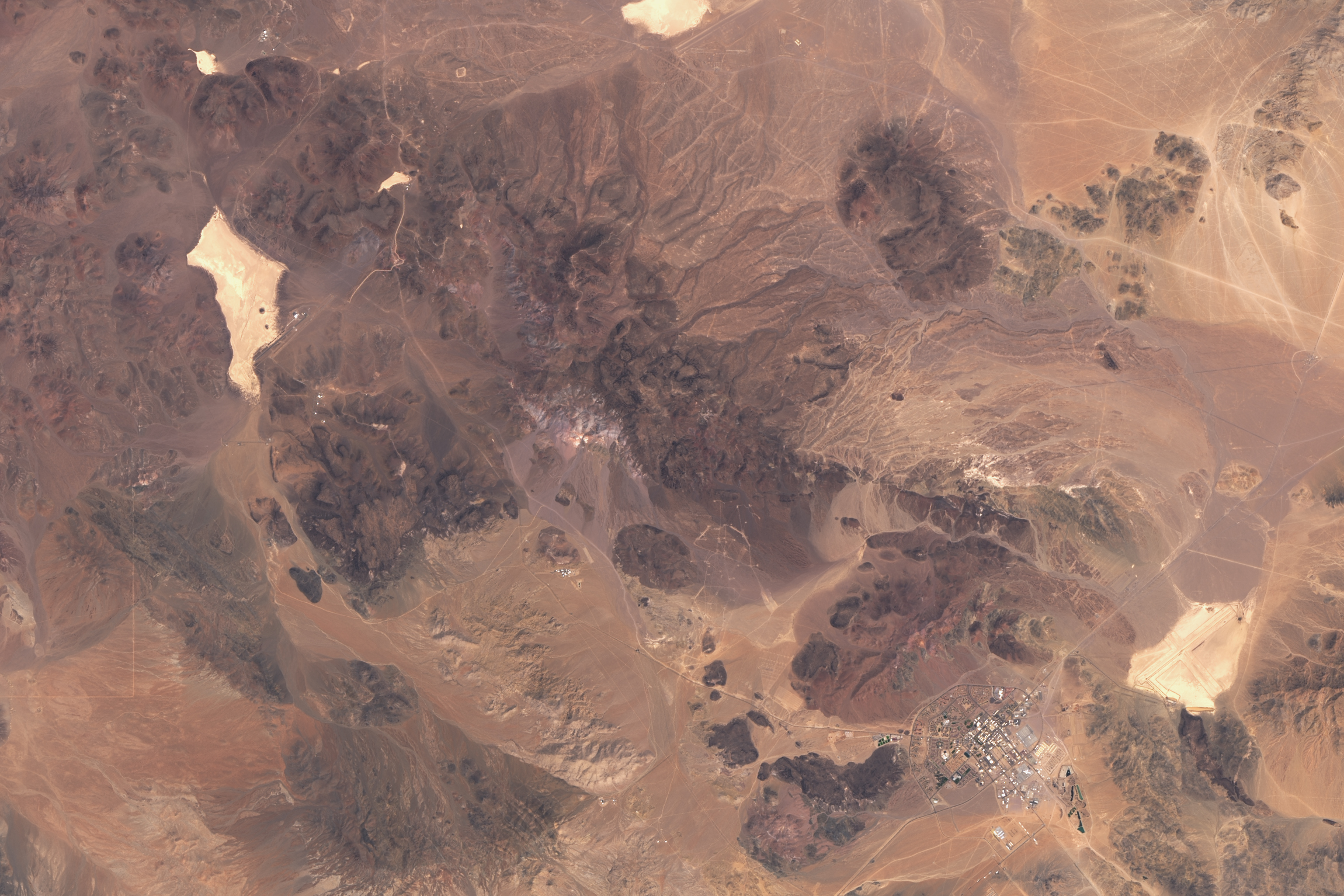 A Deep Space Communications Hub in the Desert