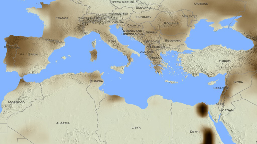 Climate change and human migrations, understanding the geopolitical nexus in the Euro-Mediterranean