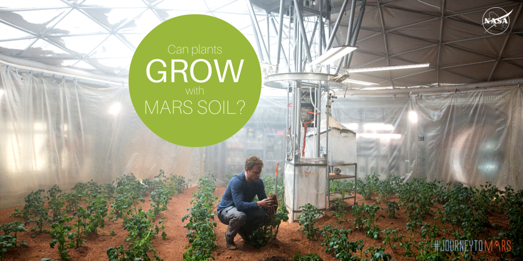Can Plants Grow with Mars Soil? | NASA