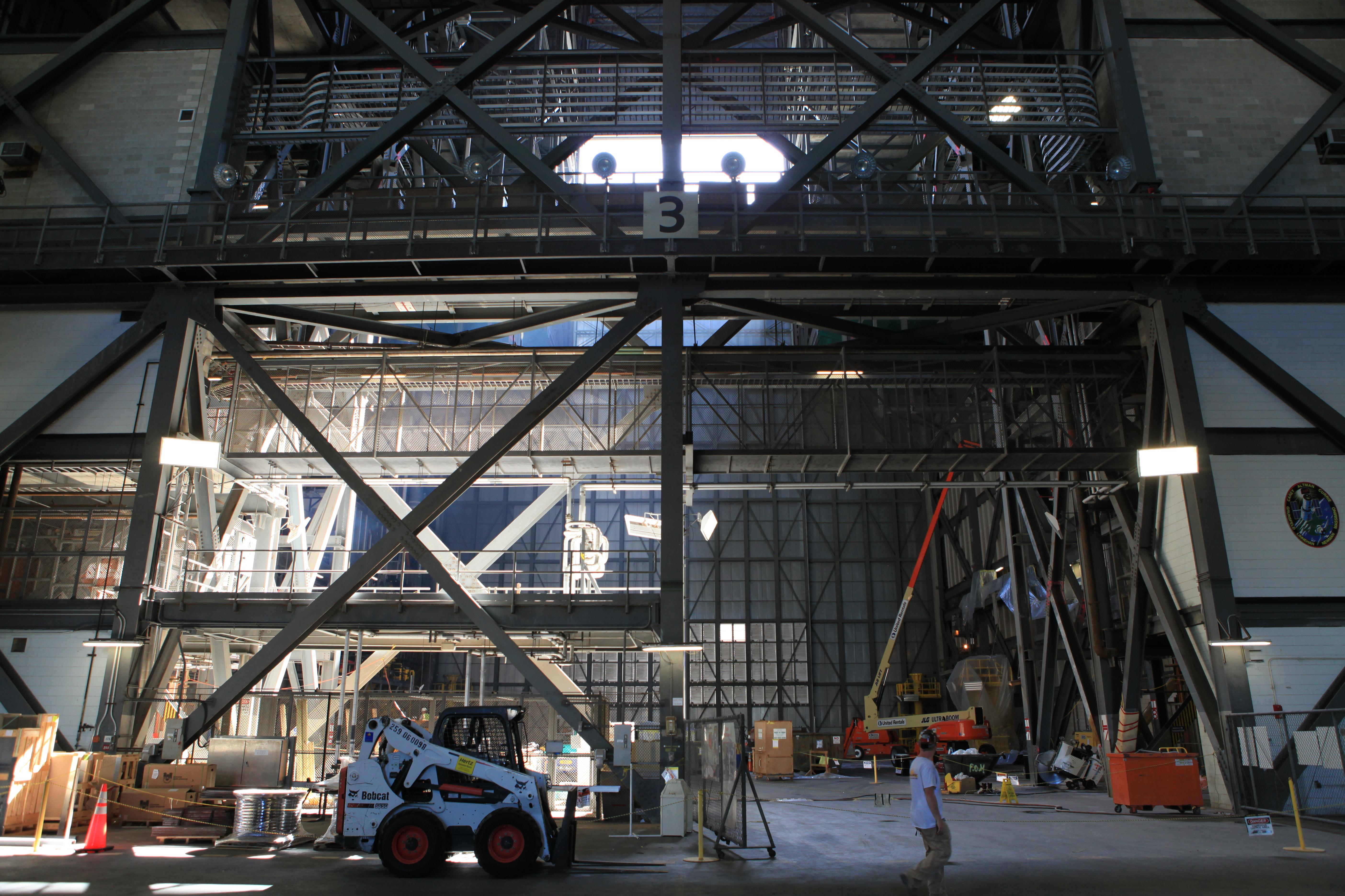 nasa vehicle assembly building interior - photo #38