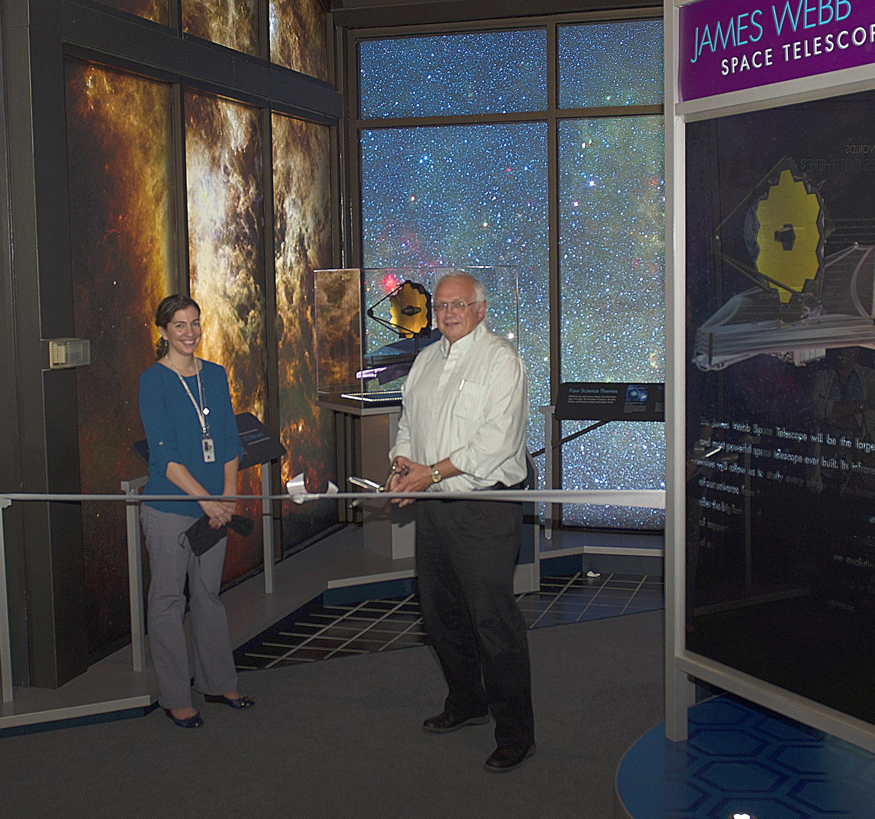 New JWST Exhibit at Goddard Visitor Center