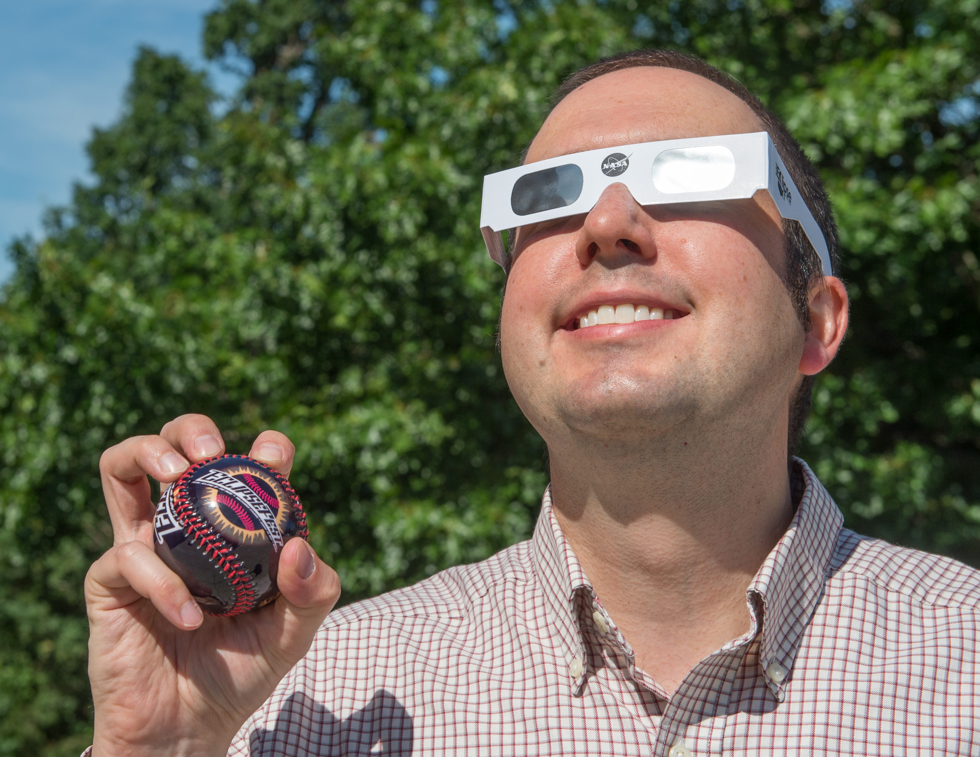 Solar Eclipse Knocks Nasa Goddard Into The Park Nasa