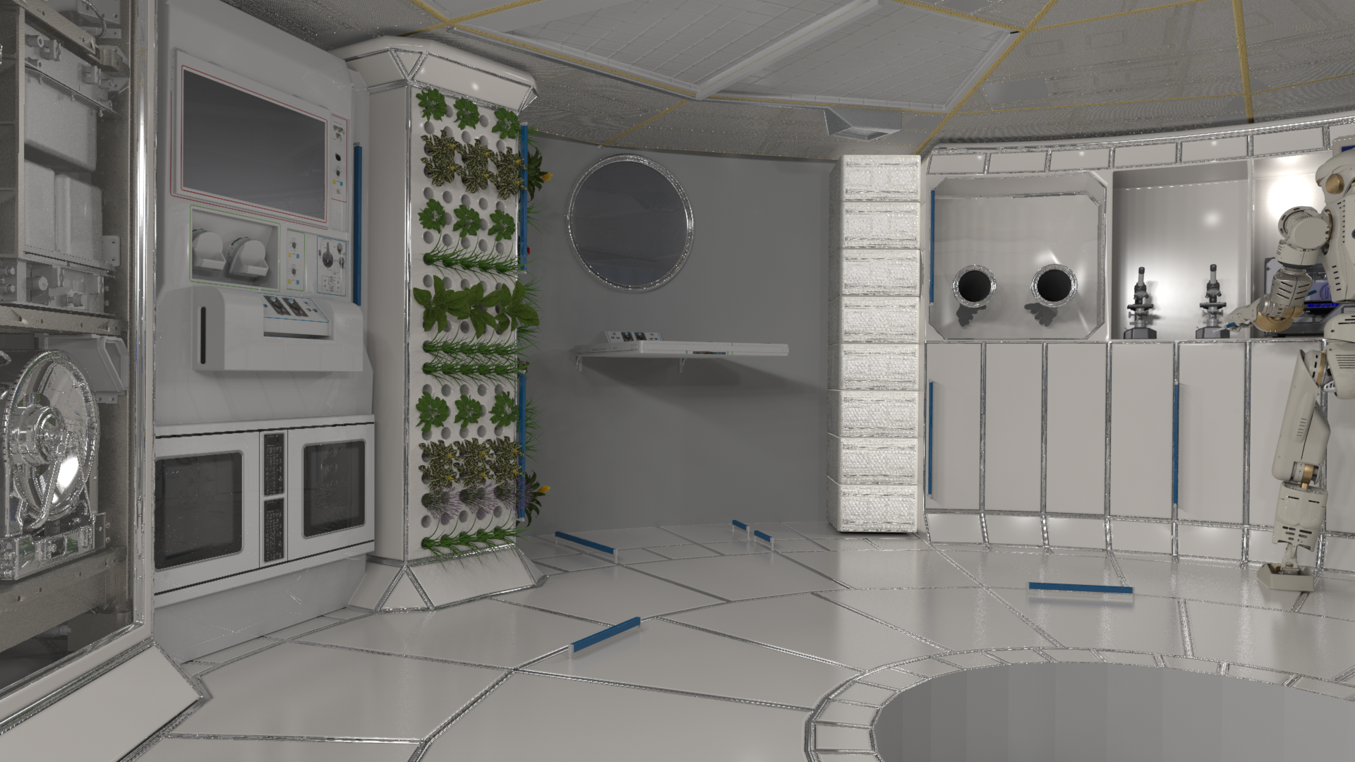 Deep Space Habitation Overview