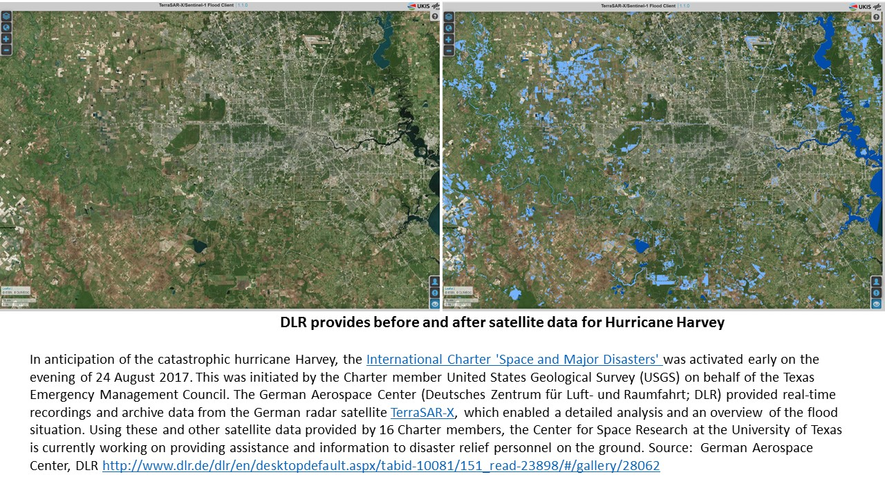 New NASA Maps Show Flooding Changes In Aftermath of