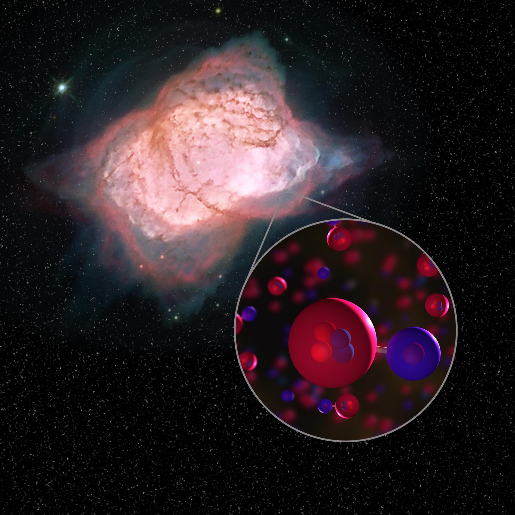 Bilim insanları, Evrende Oluşan İlk Molekül Tipini Keşfetti…