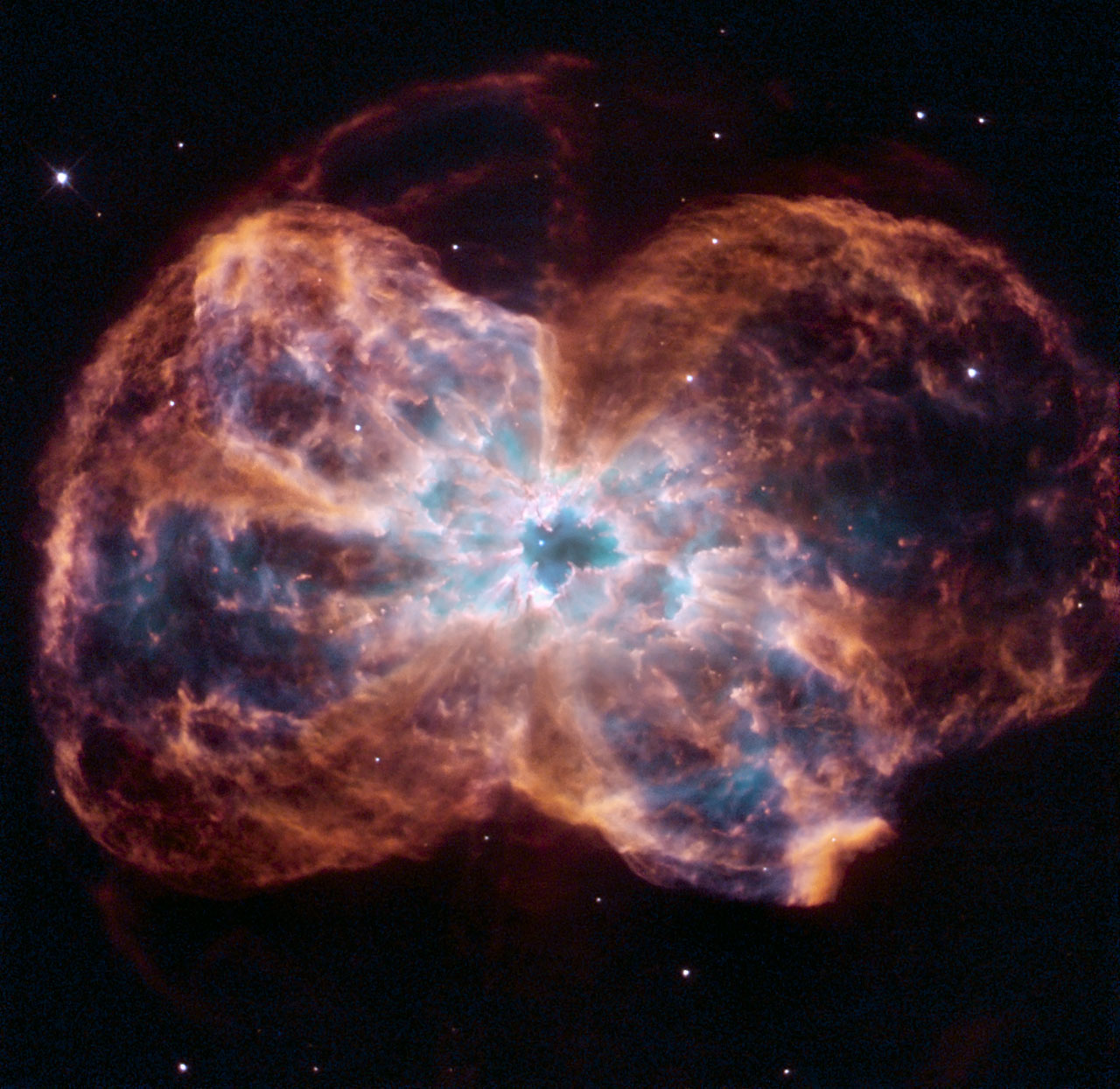 Hubble Views a Colorful Demise of a Sun-like Star | NASA