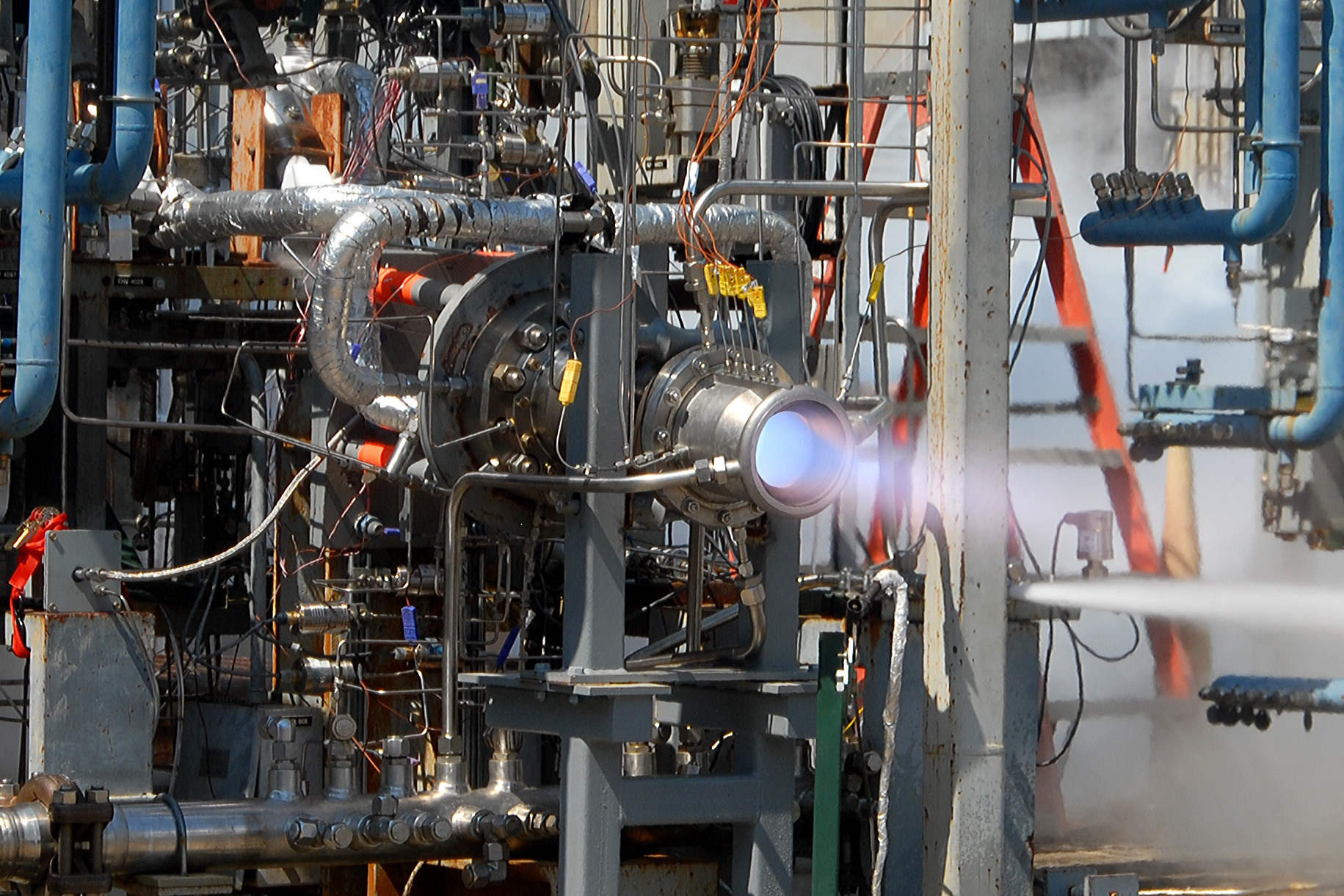 Nasa Tests Methane Engine Components For Next Generation