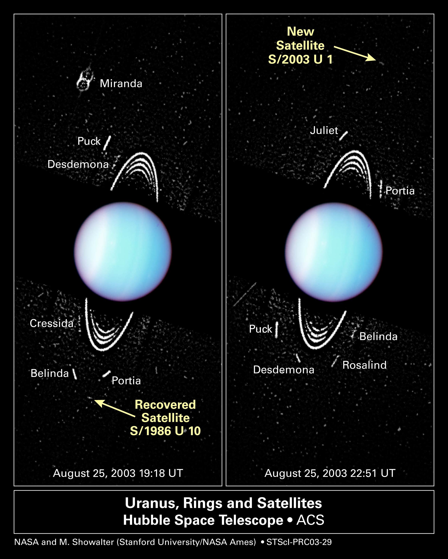 Hubble Uncovers Smallest Moons Yet Seen Around Uranus | NASA