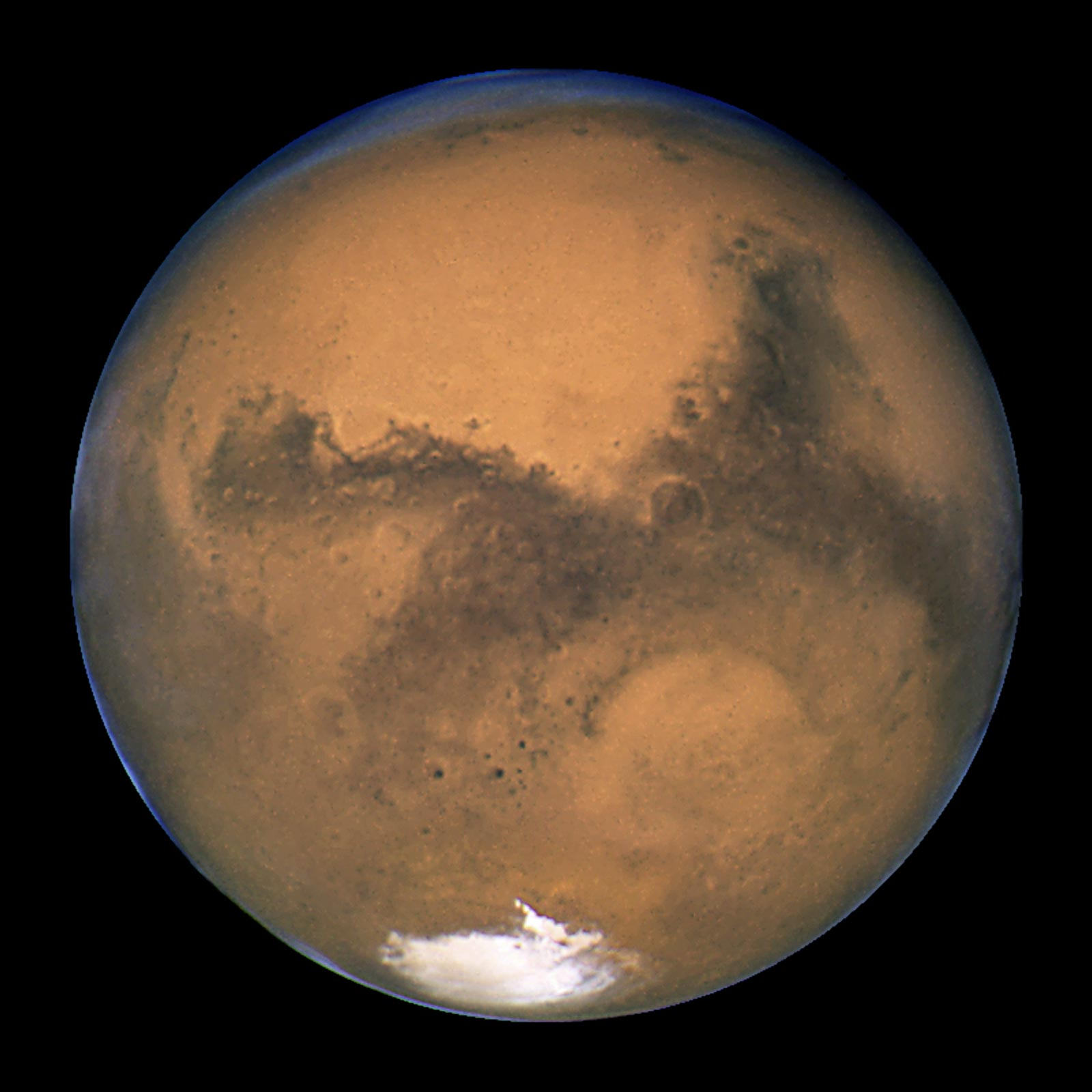 NASA's Hubble Space Telescope Close-up of the Red Planet, Mars | NASA