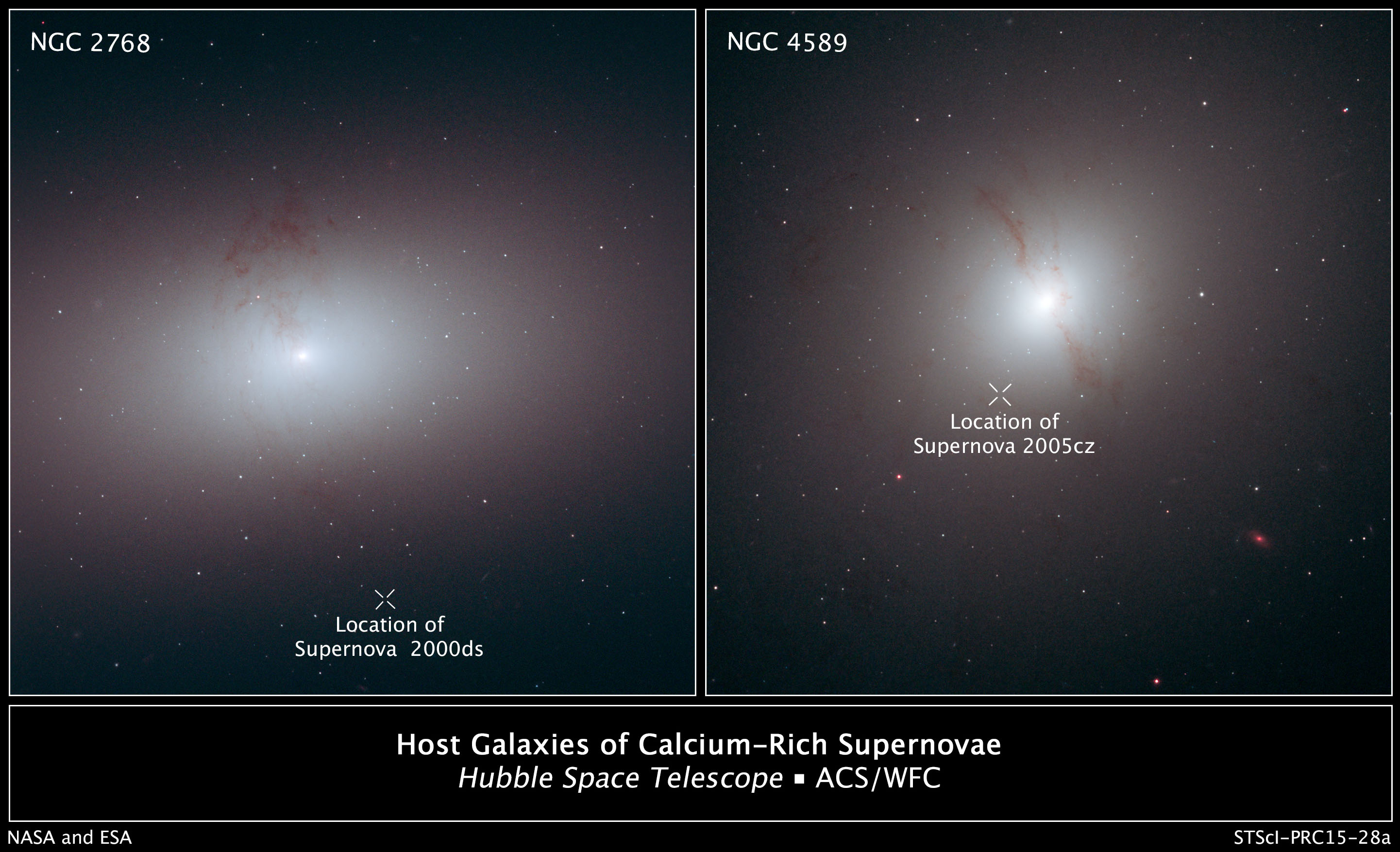 Hubble Finds Supernovae in 'Wrong Place at Wrong Time' | NASA