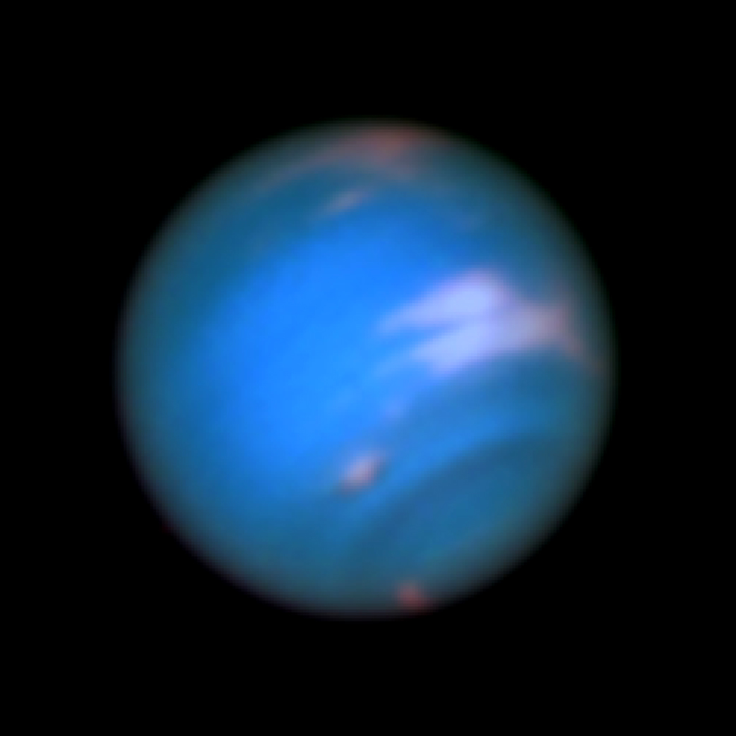 neptune from hubble - photo #5