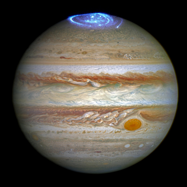 Hubble Captures Vivid Auroras In Jupiters Atmosphere NASA - Nasas juno spacecraft has captured incredible images of jupiters surface
